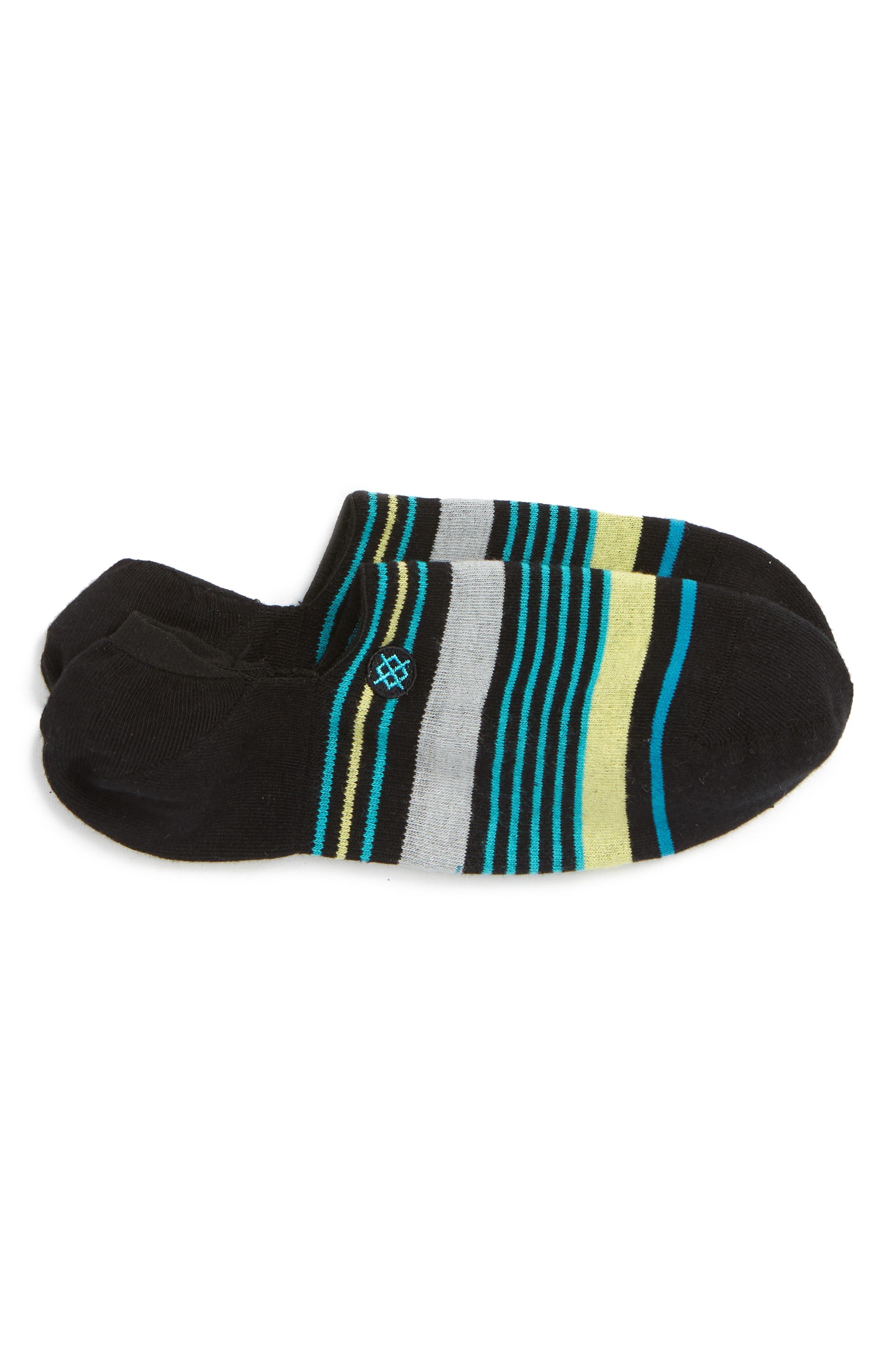 STANCE,                             Reda Low Socks,                             Main thumbnail 1, color,                             001