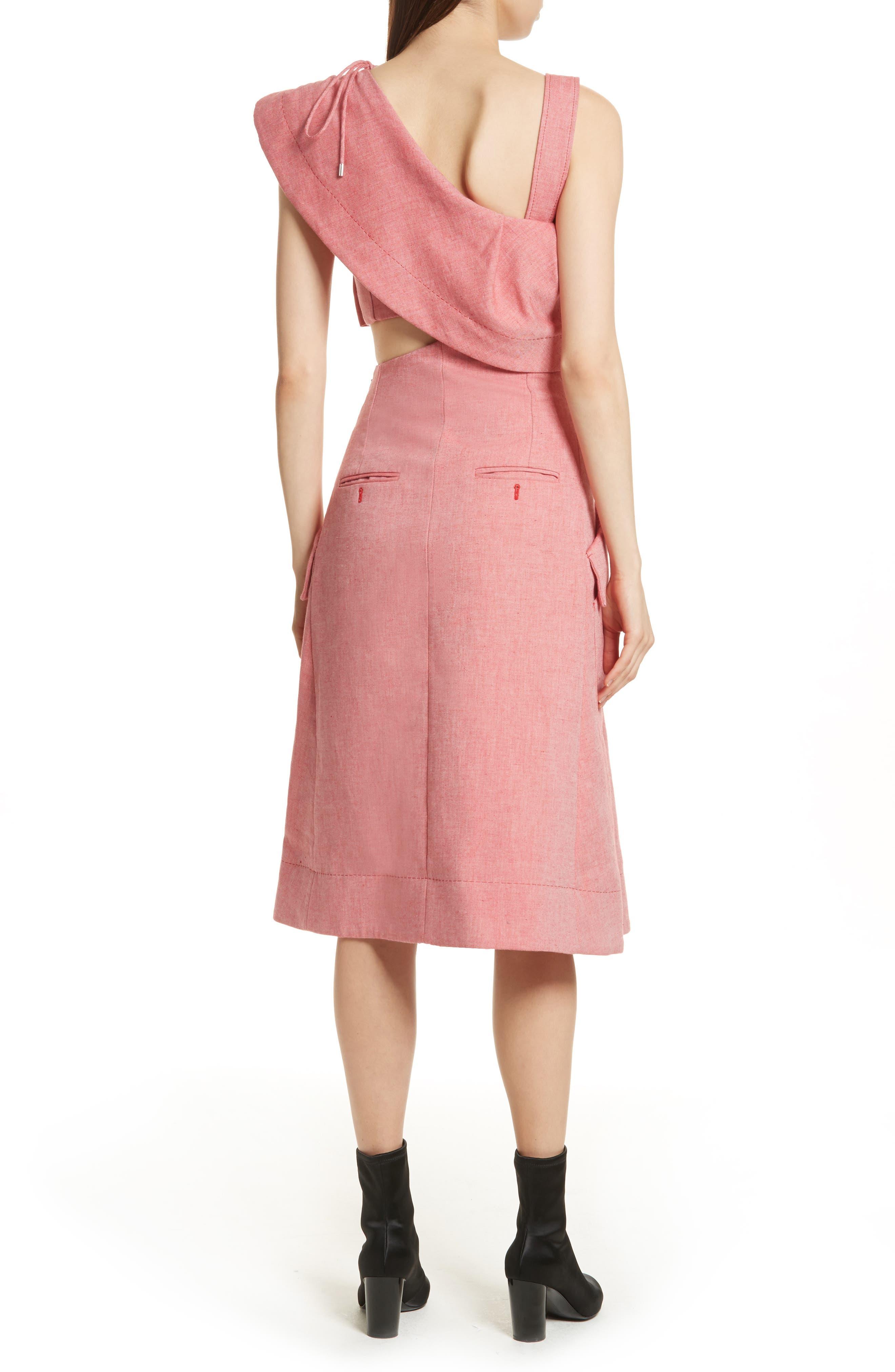 Robe Genou Dress,                             Alternate thumbnail 2, color,                             650