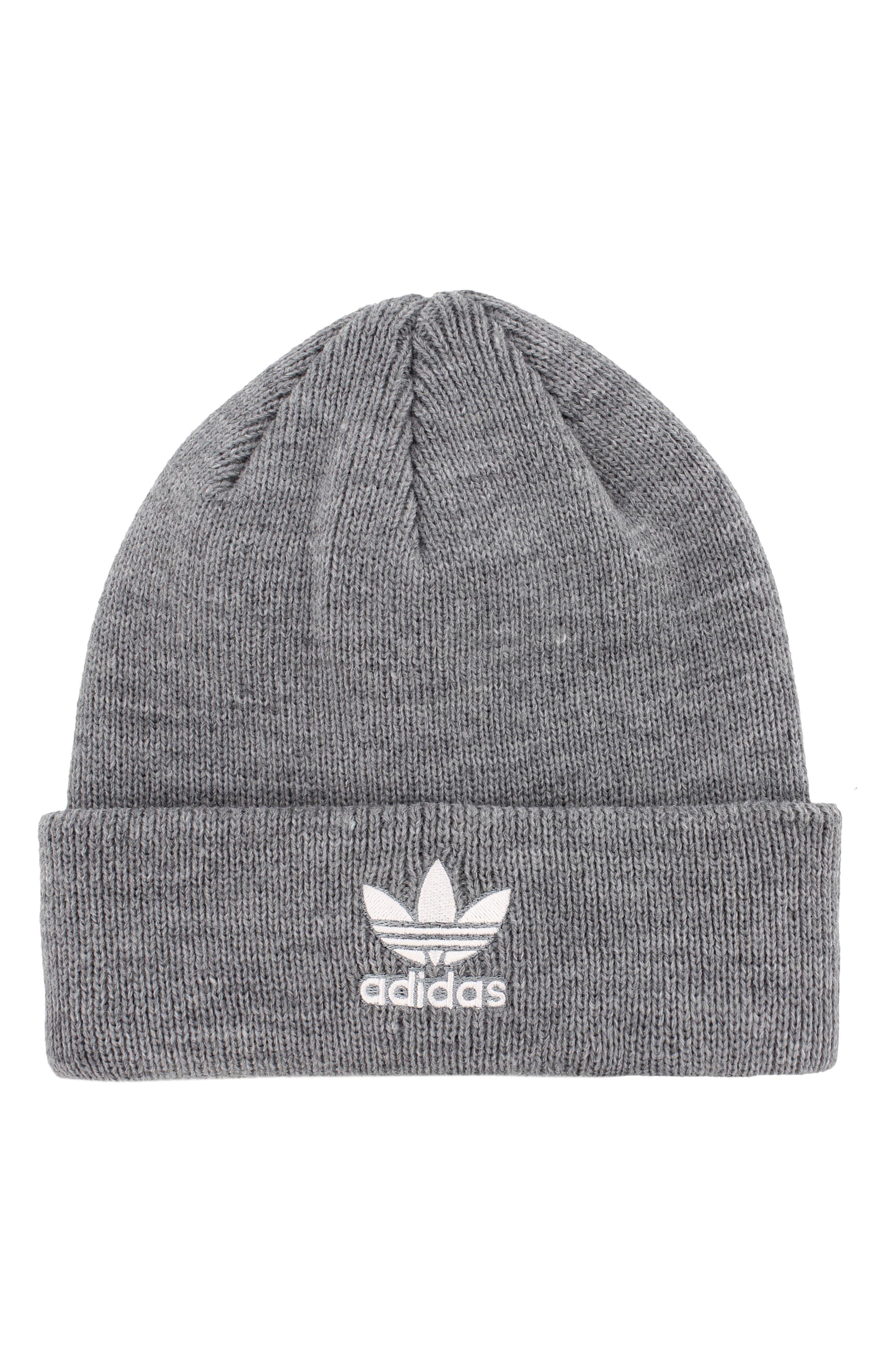 Adidas Trefoil Beanie - Grey