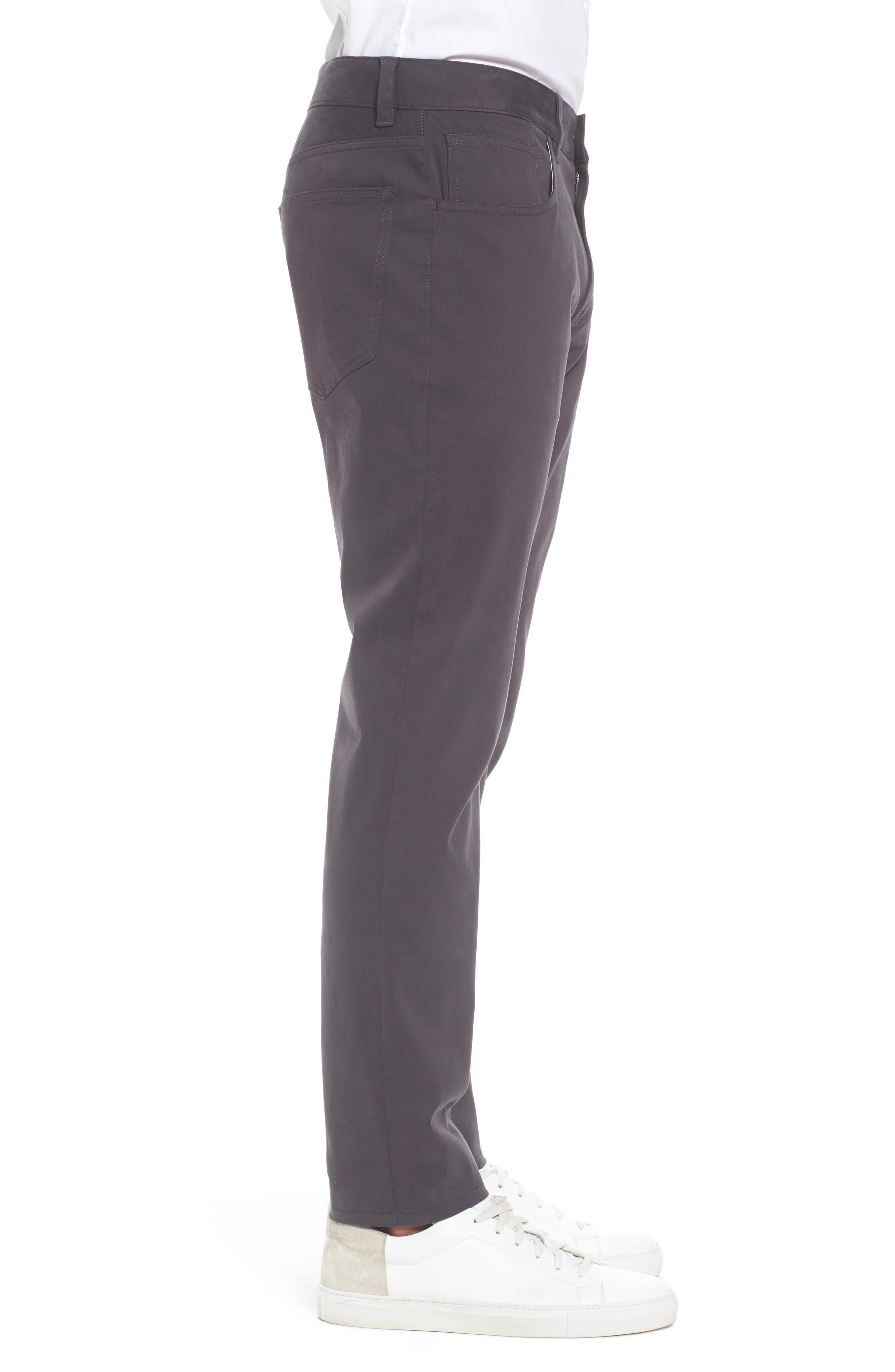 Slim Stretch Twill Pants,                             Alternate thumbnail 8, color,