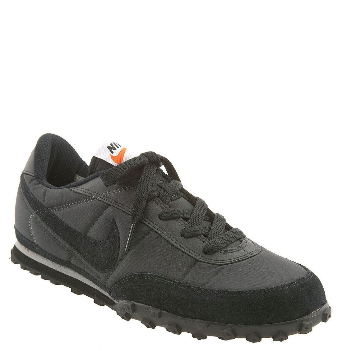 'Waffle Racer II' Athletic Shoe, Main, color, BLK