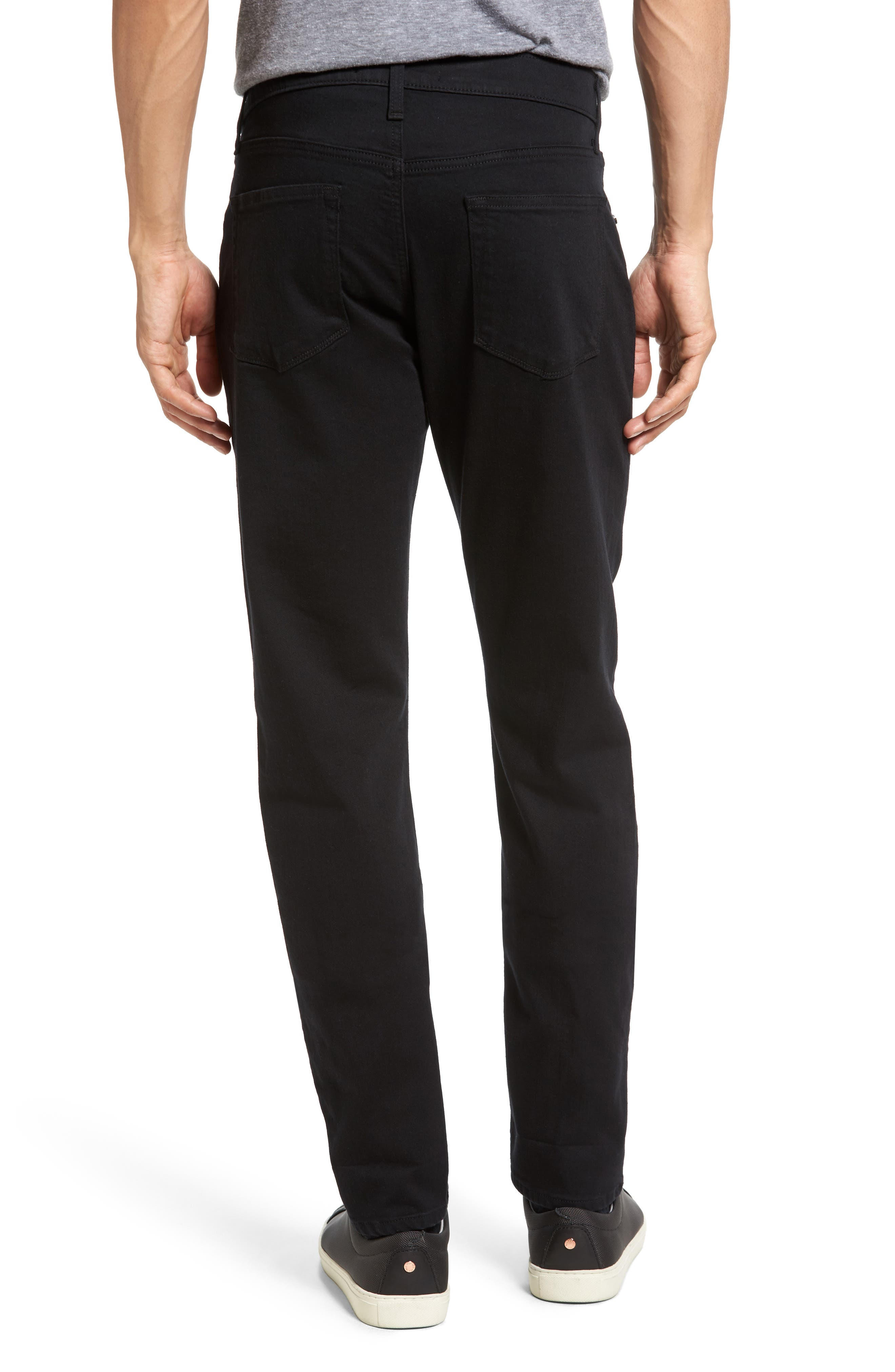 Tyler Slim Fit Jeans,                             Alternate thumbnail 2, color,                             SERIOUSLY BLACK