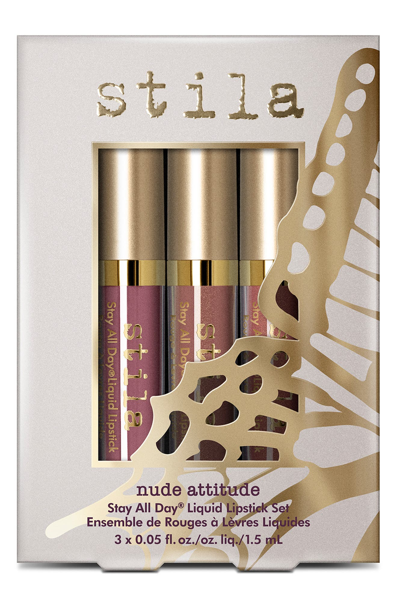 Nude Attitude Stay All Day<sup>®</sup> Liquid Lipstick Set,                             Alternate thumbnail 2, color,                             NO COLOR