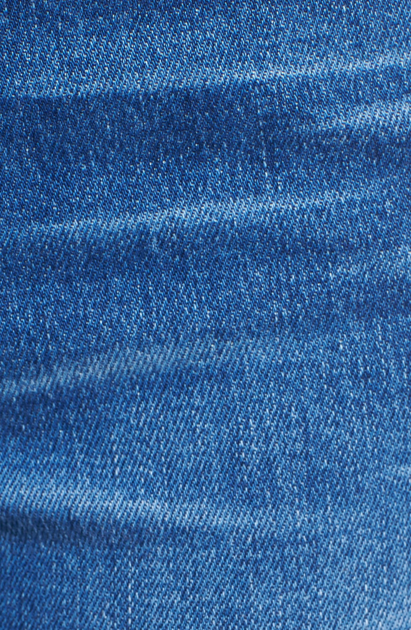 Le High Straight Leg Jeans,                             Alternate thumbnail 6, color,                             420
