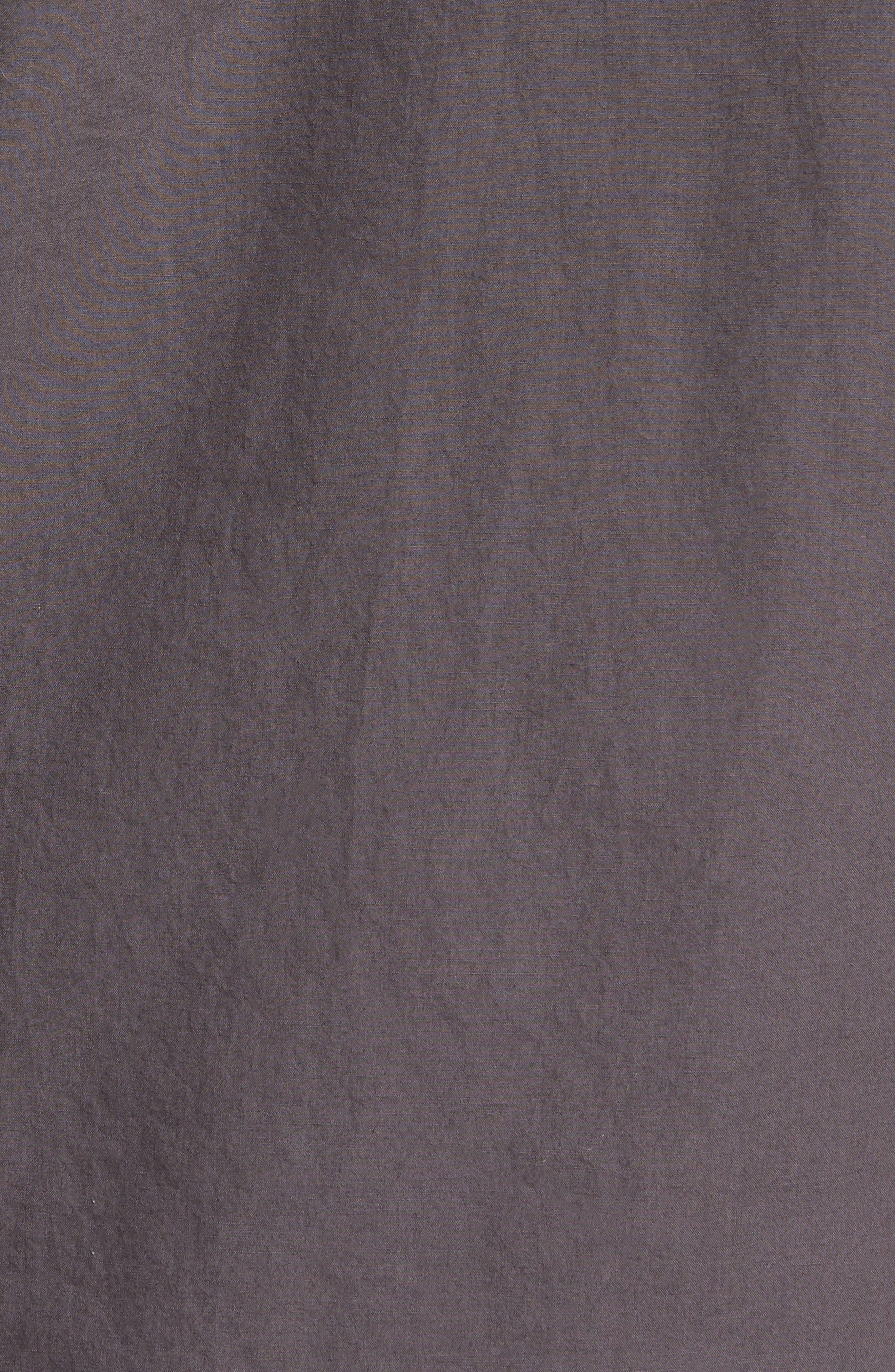 Regular Fit Garment Dyed Poplin Sport Shirt,                             Alternate thumbnail 5, color,                             020
