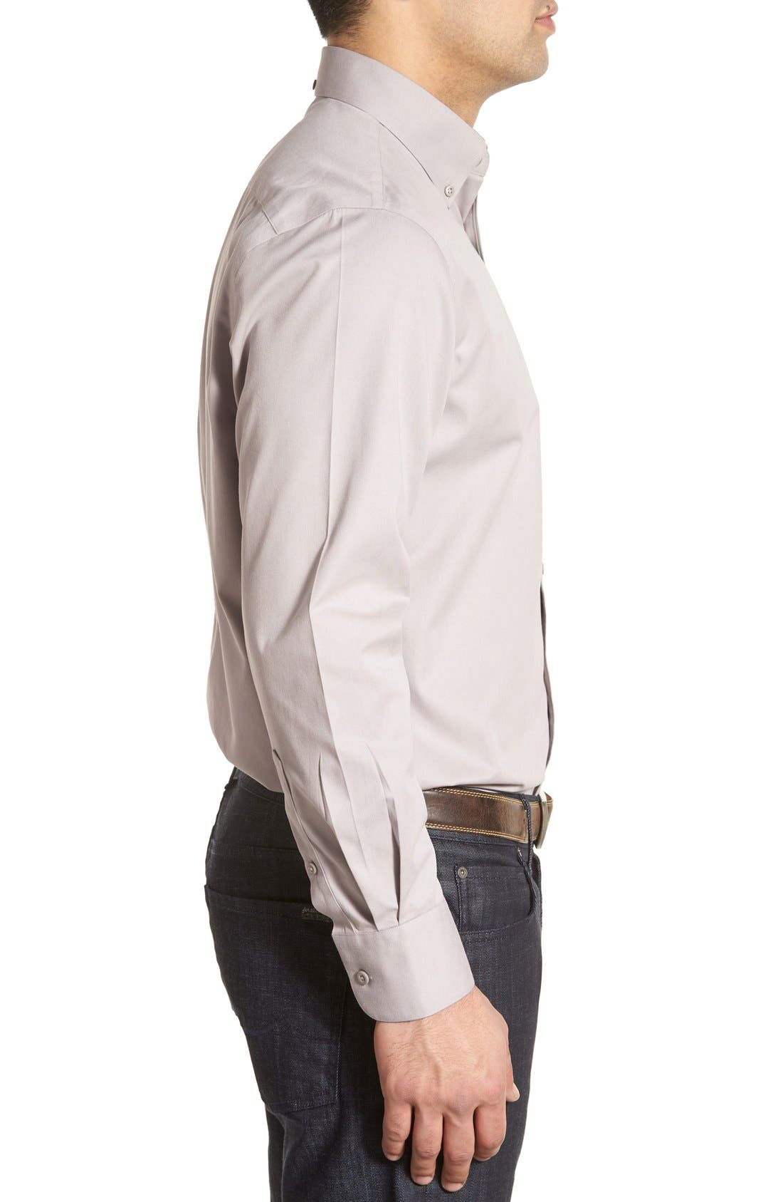 Smartcare<sup>™</sup> Traditional Fit Twill Boat Shirt,                             Alternate thumbnail 82, color,