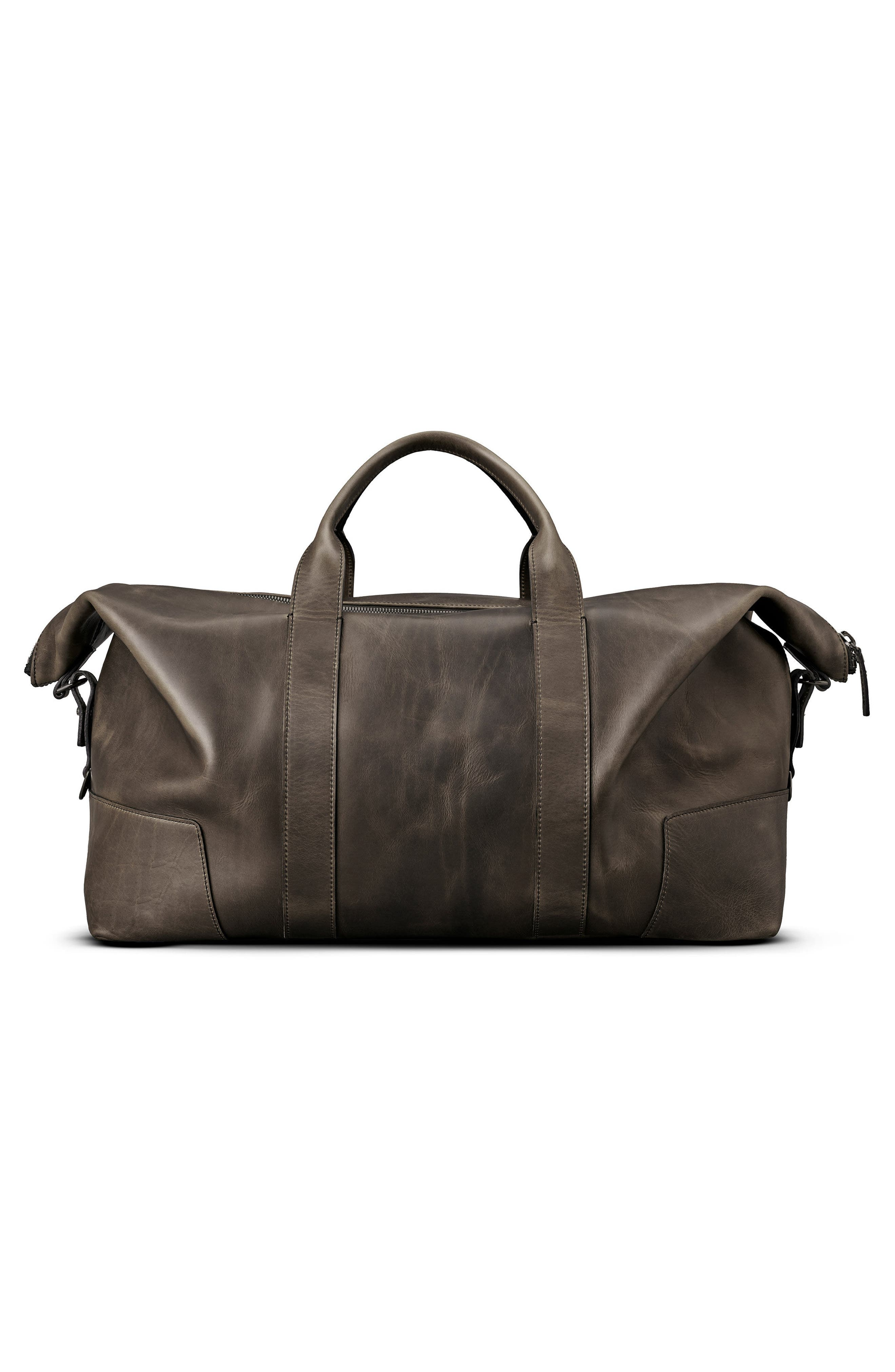 Madone Leather Carryall Bag,                             Alternate thumbnail 2, color,                             018
