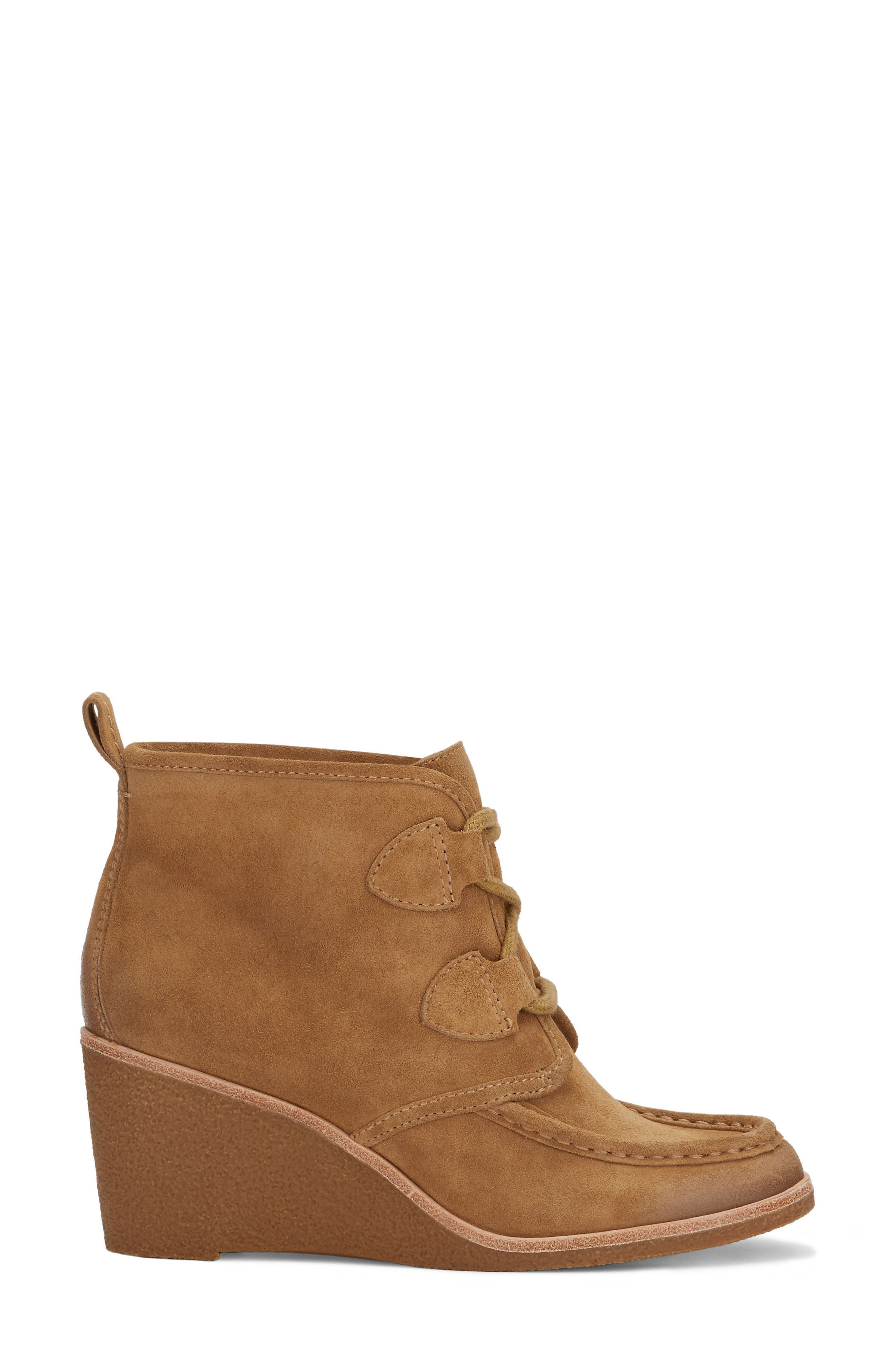 Rosa Wedge Bootie,                             Alternate thumbnail 8, color,