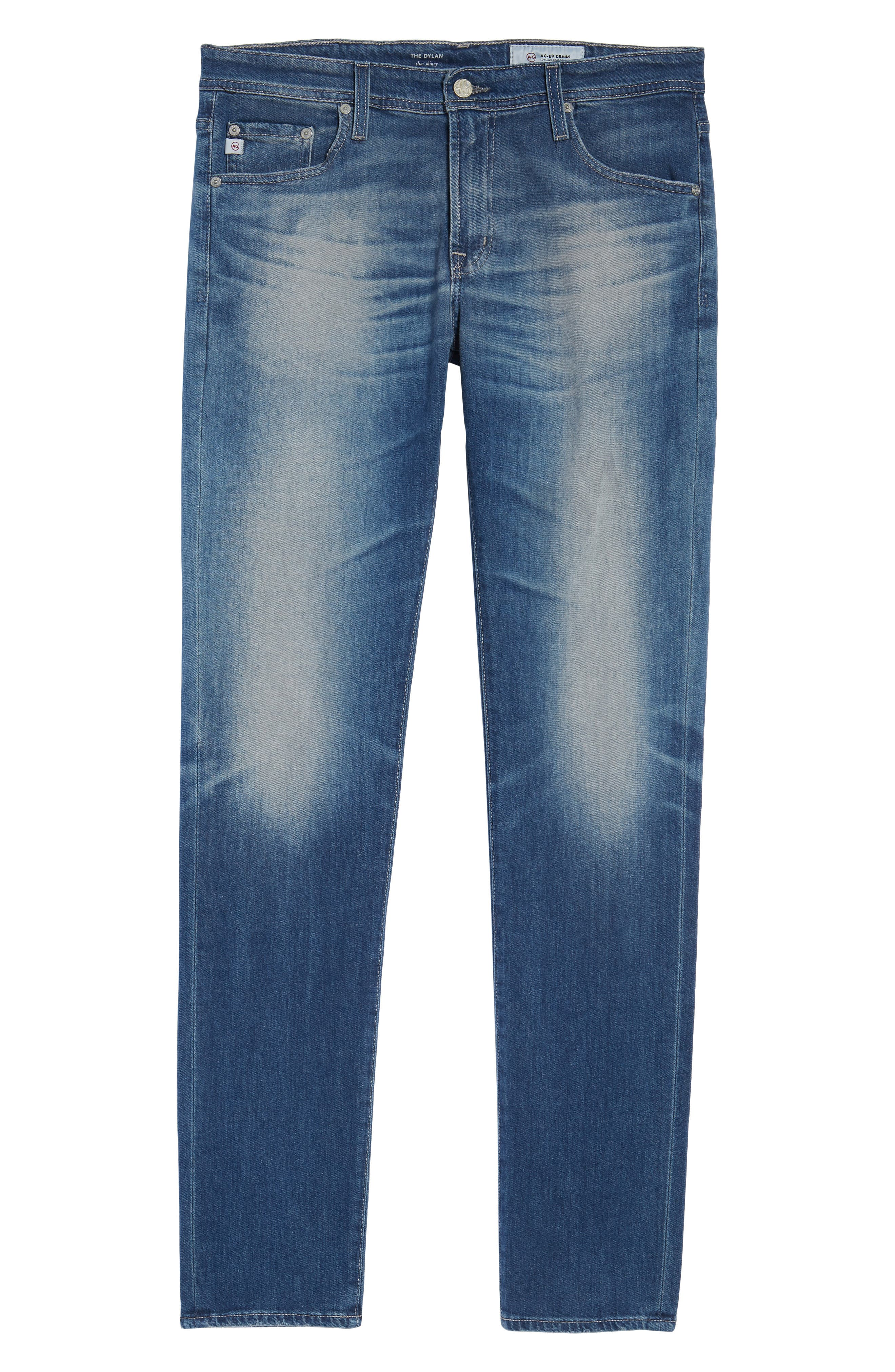 Dylan Skinny Fit Jeans,                             Alternate thumbnail 6, color,