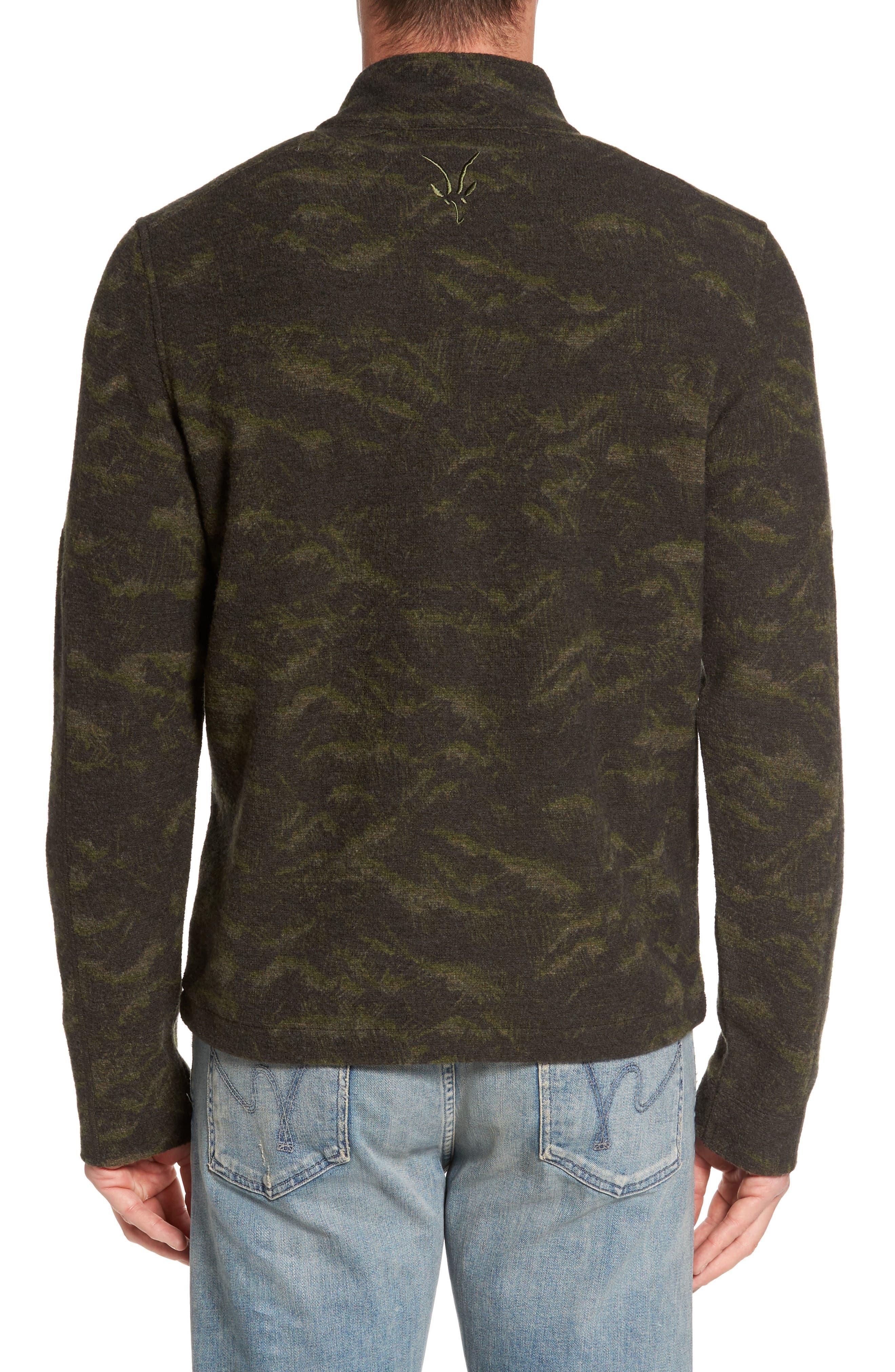 Scout Jura Merino Wool Blend Quarter Zip Pullover,                             Alternate thumbnail 7, color,