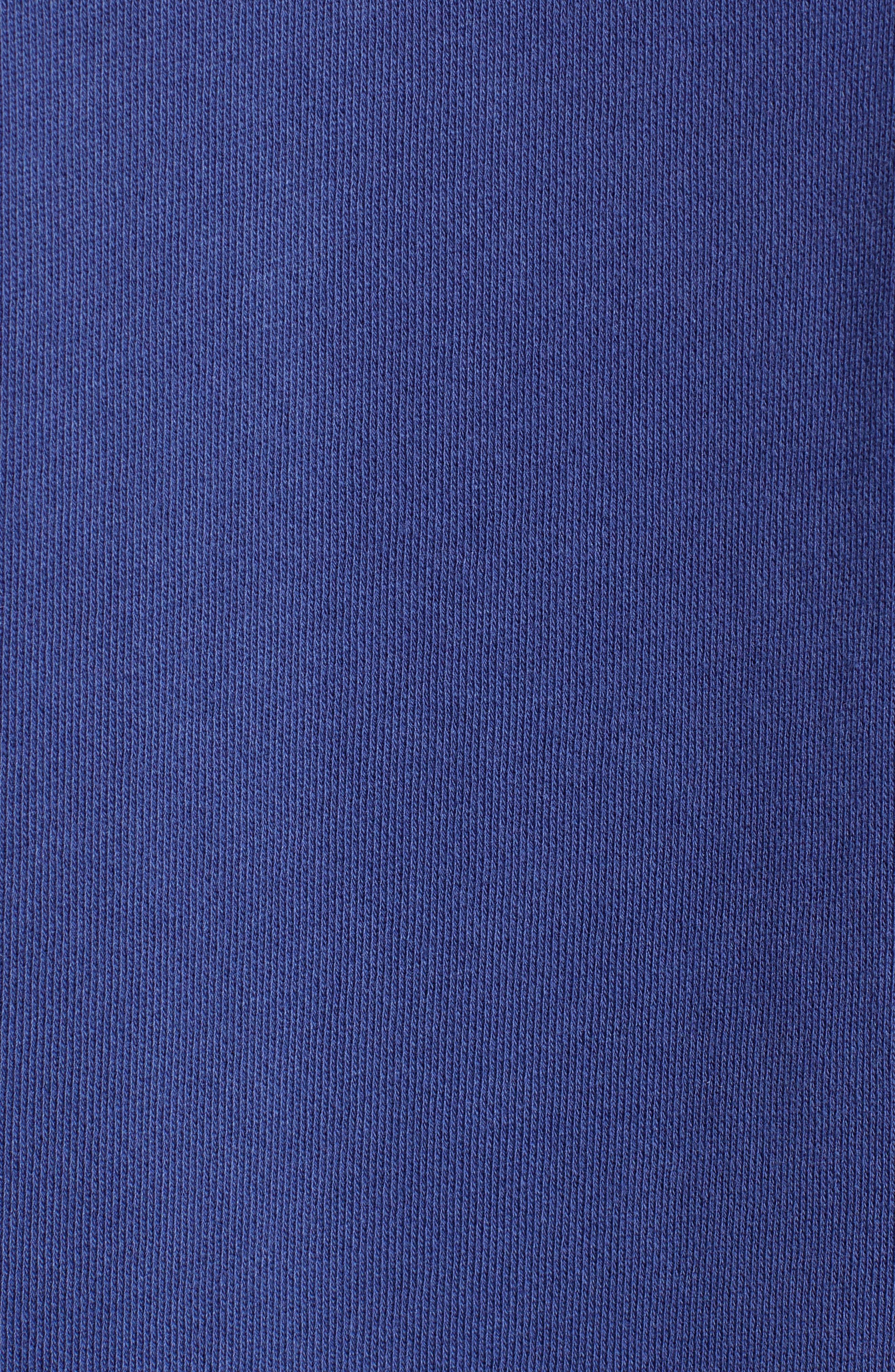 Dunham Crewneck Sweatshirt,                             Alternate thumbnail 5, color,                             BLUE PRINT