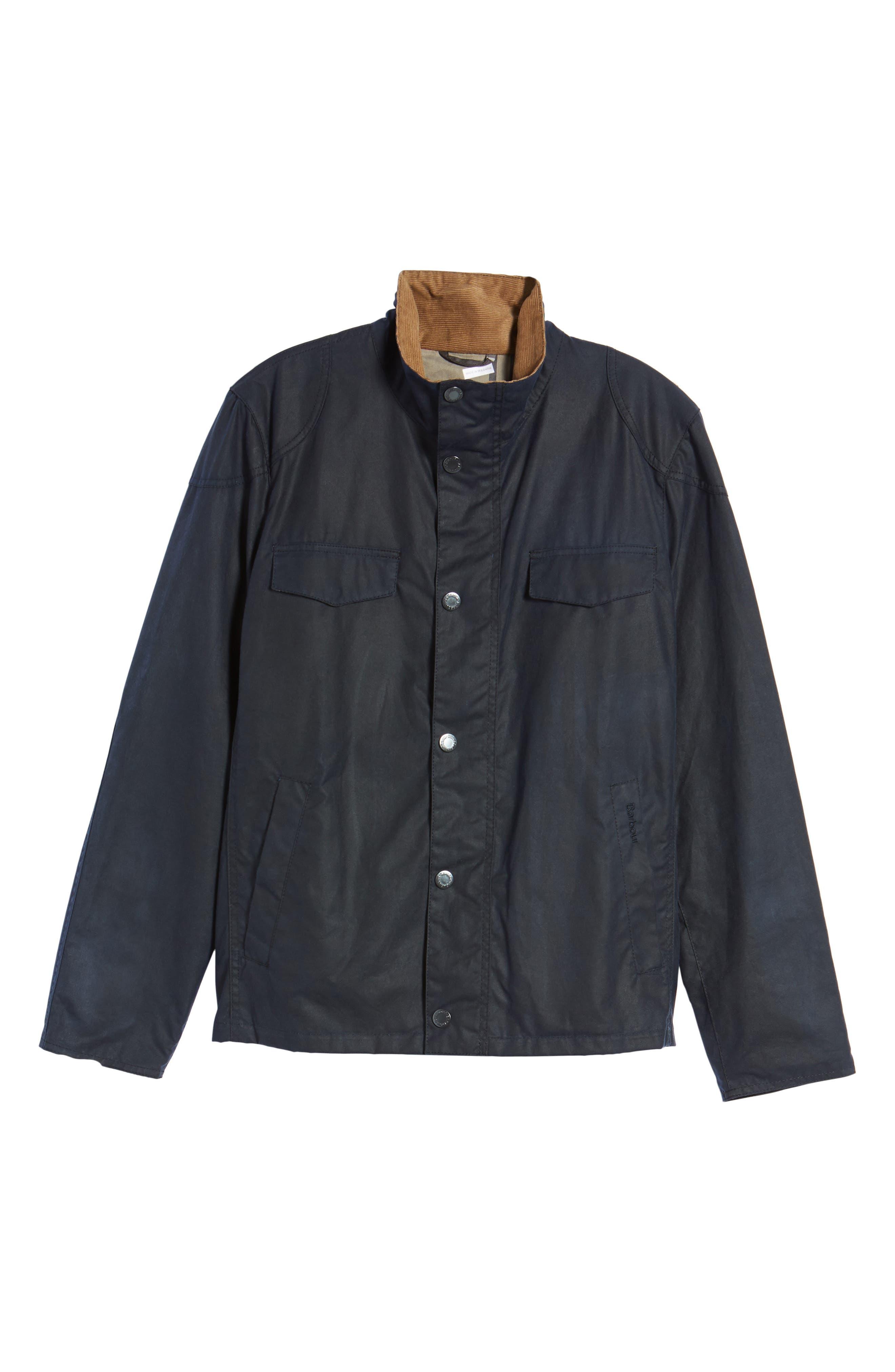 Lomond Waxed Cotton Jacket,                             Alternate thumbnail 5, color,                             410
