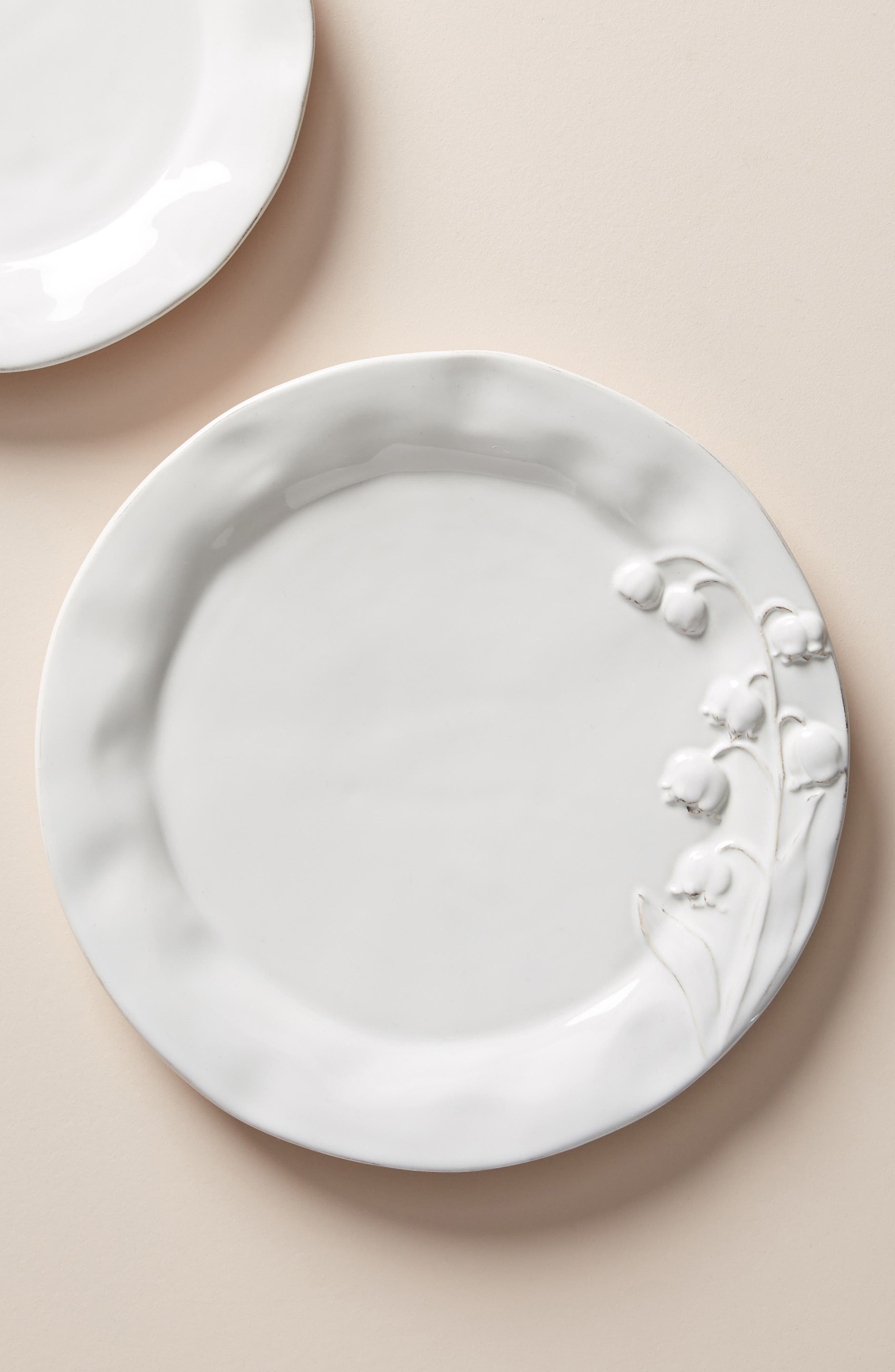 Katerina Set of 4 Dinner Plates, Main, color, WHITE