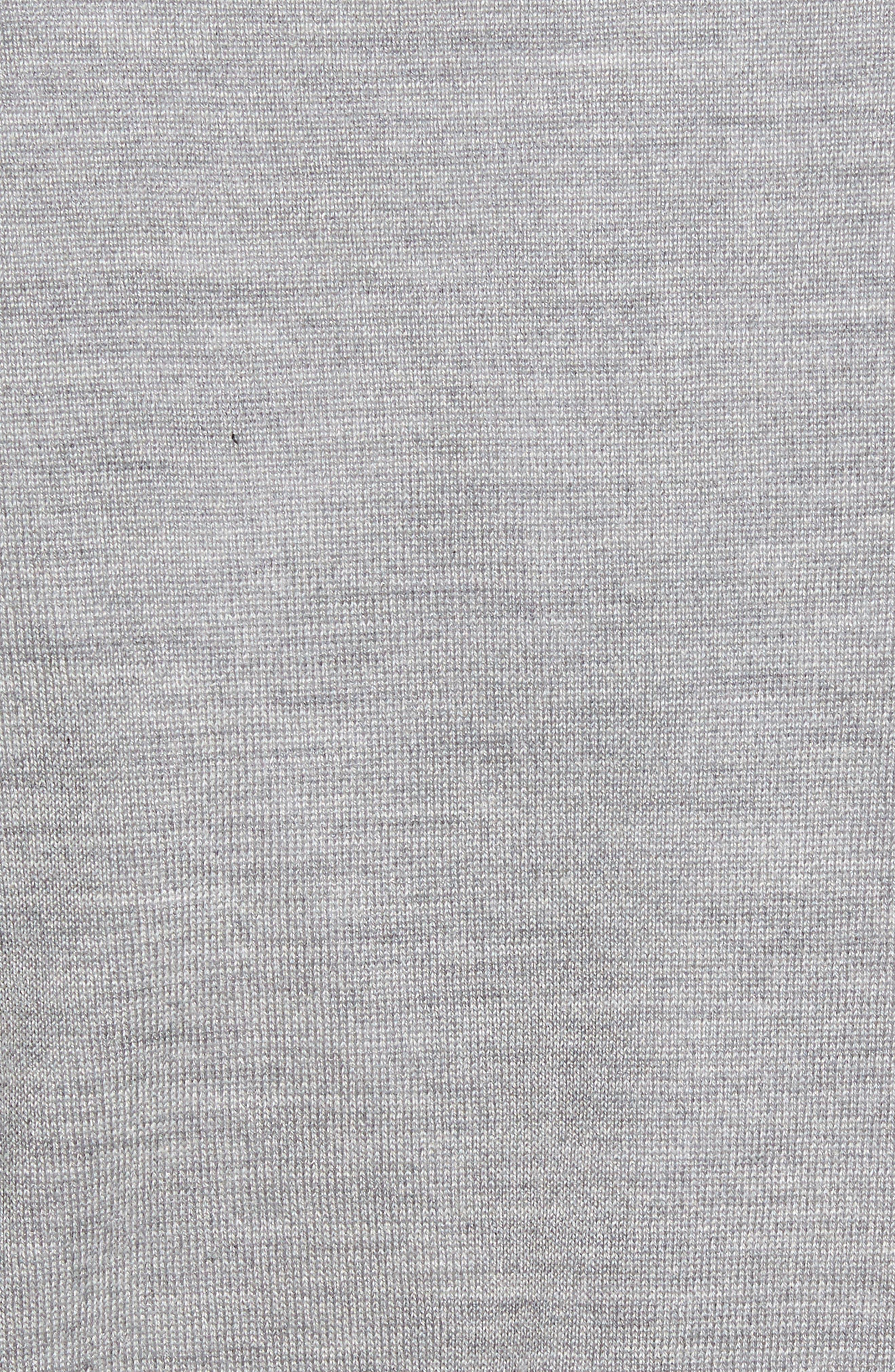 Wool Blend Quarter Zip Sweater,                             Alternate thumbnail 9, color,