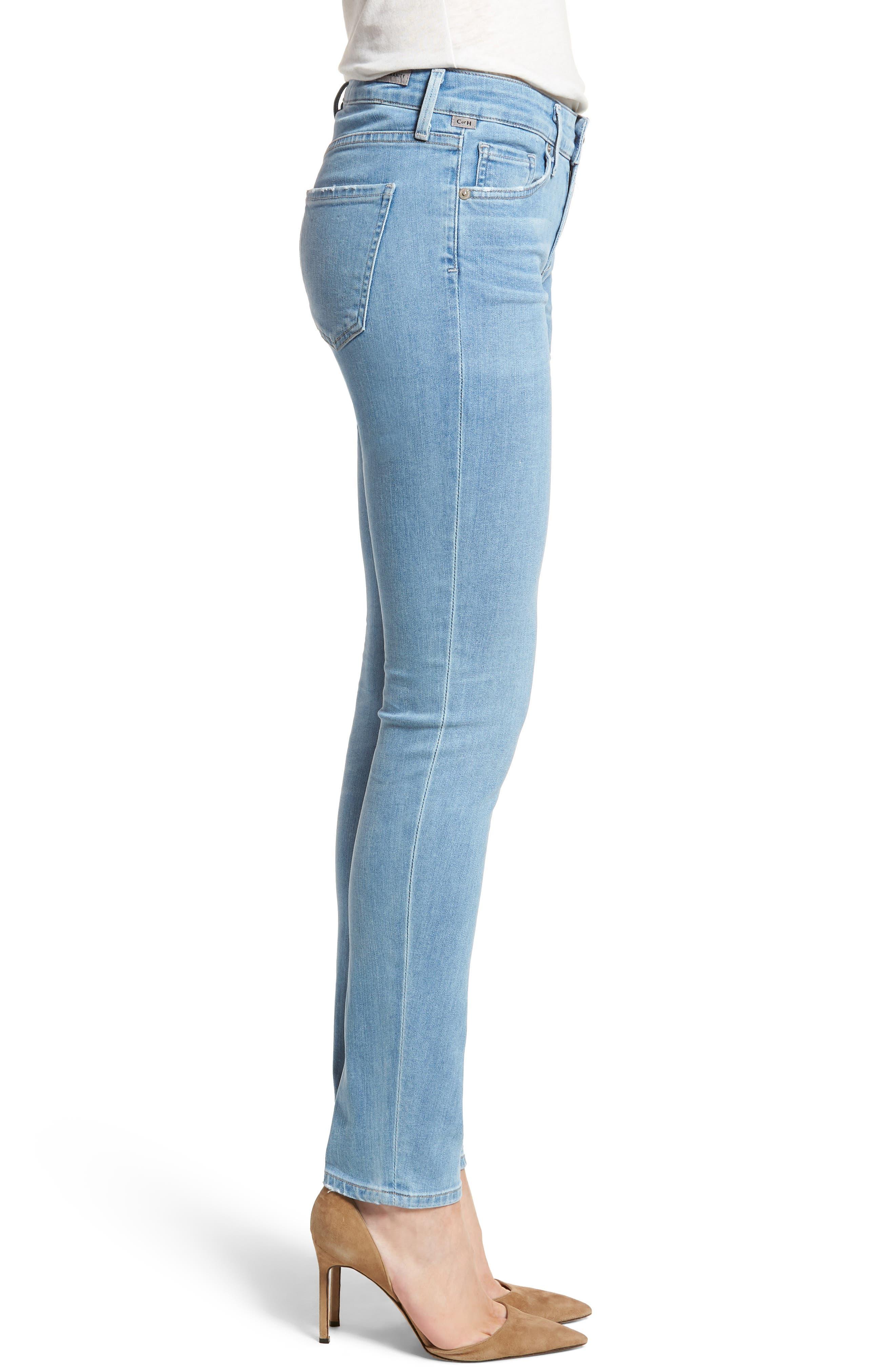 Arielle Slim Jeans,                             Alternate thumbnail 3, color,                             455