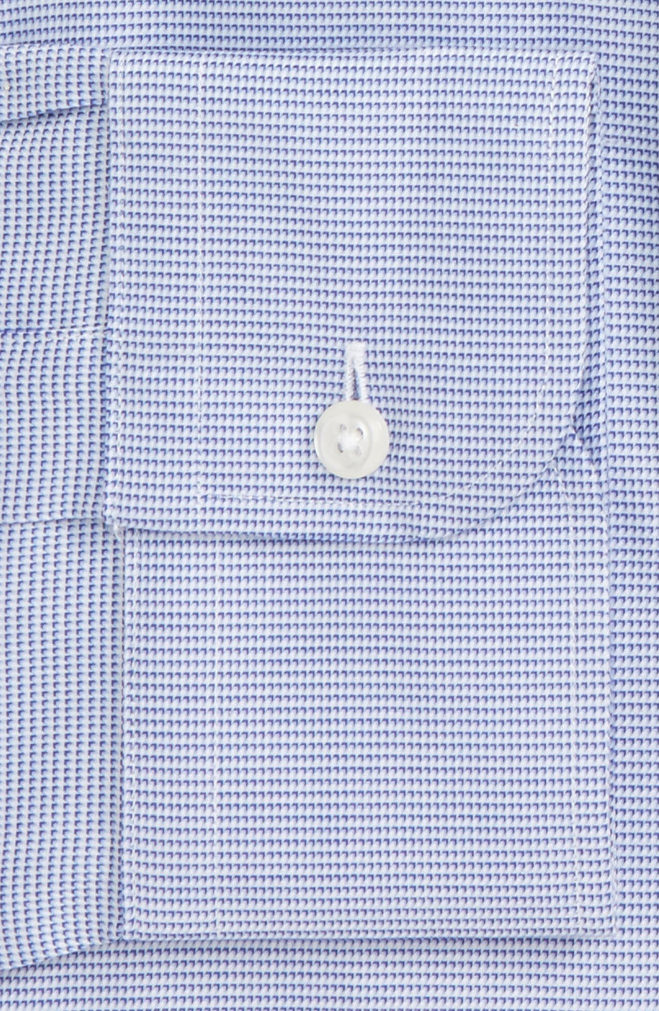 Trim Fit Solid Dress Shirt,                             Alternate thumbnail 2, color,                             420