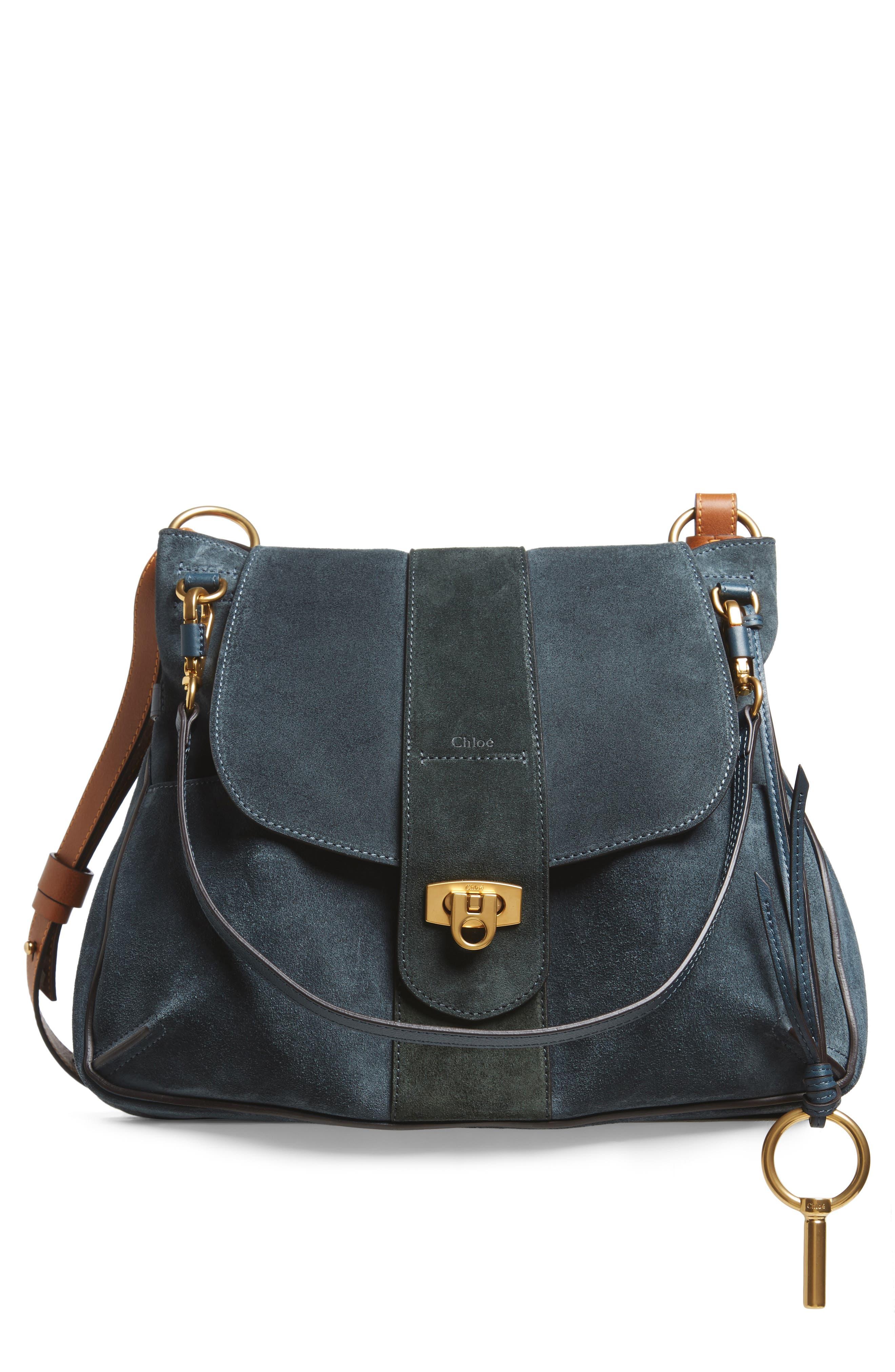 Medium Lexa Leather Shoulder Bag,                             Main thumbnail 2, color,