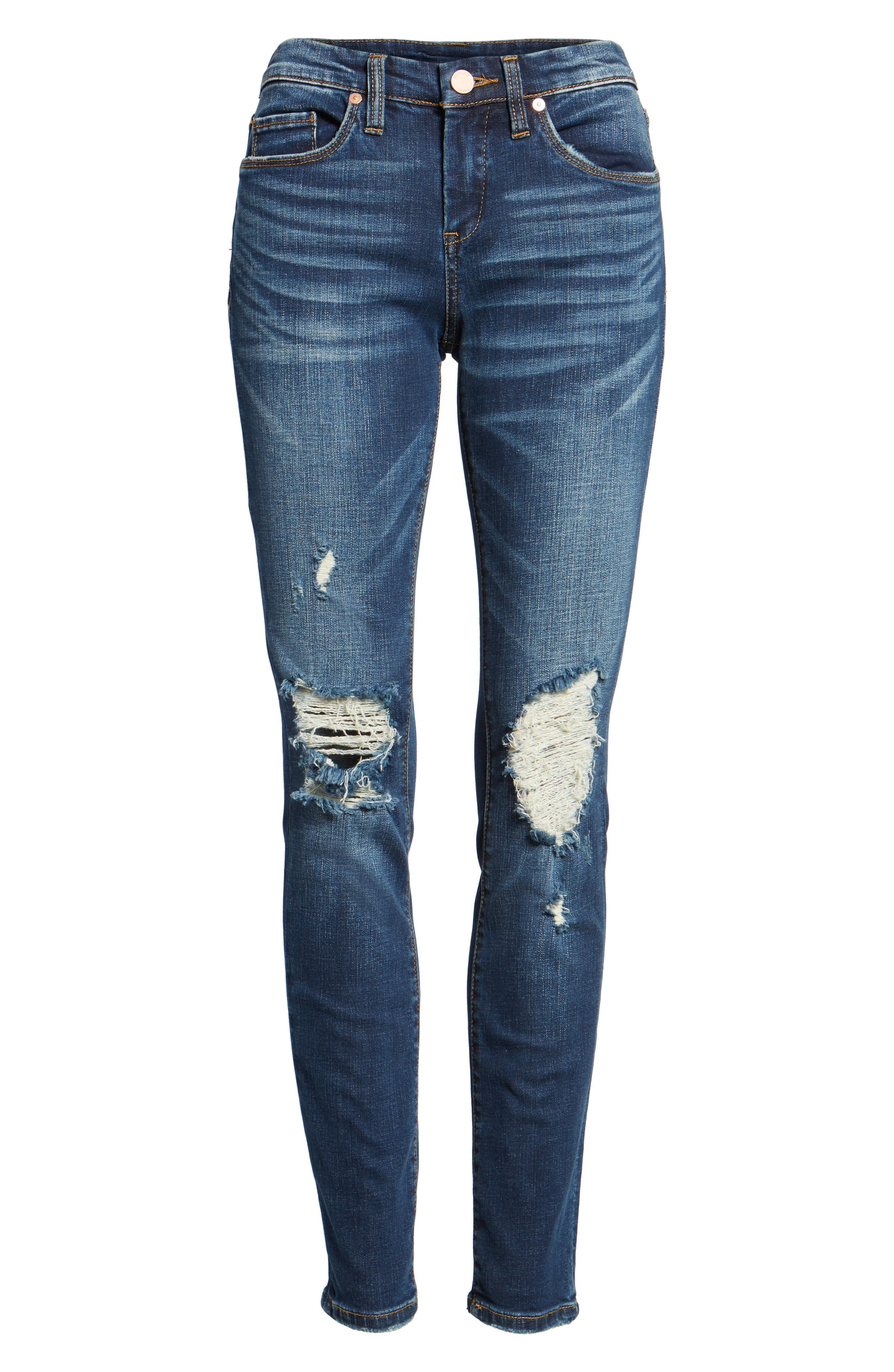 Decon Cult Classic Skinny Jeans,                             Alternate thumbnail 6, color,                             400