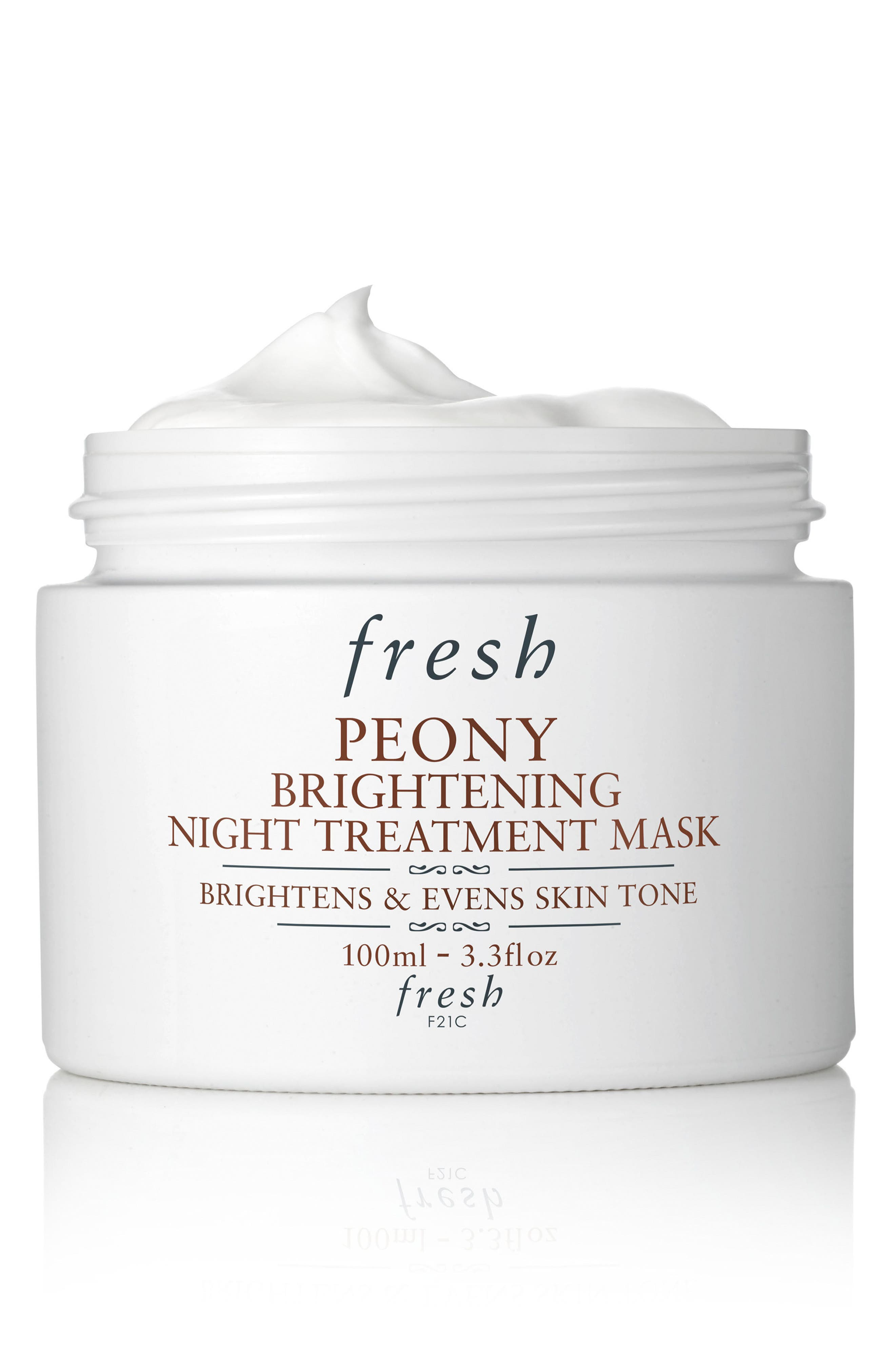 Peony Brightening Night Treatment Mask,                         Main,                         color, NO COLOR