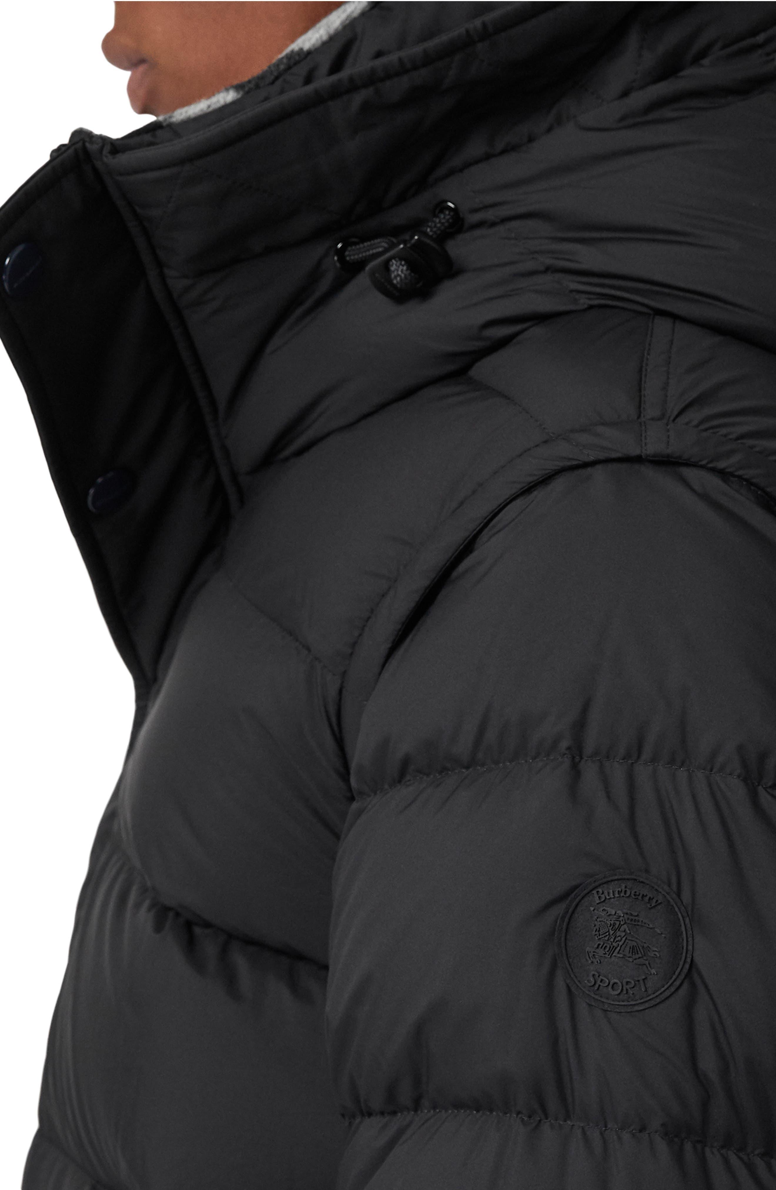 Hartley Hybrid Jacket with Detachable Sleeves,                             Alternate thumbnail 4, color,                             001