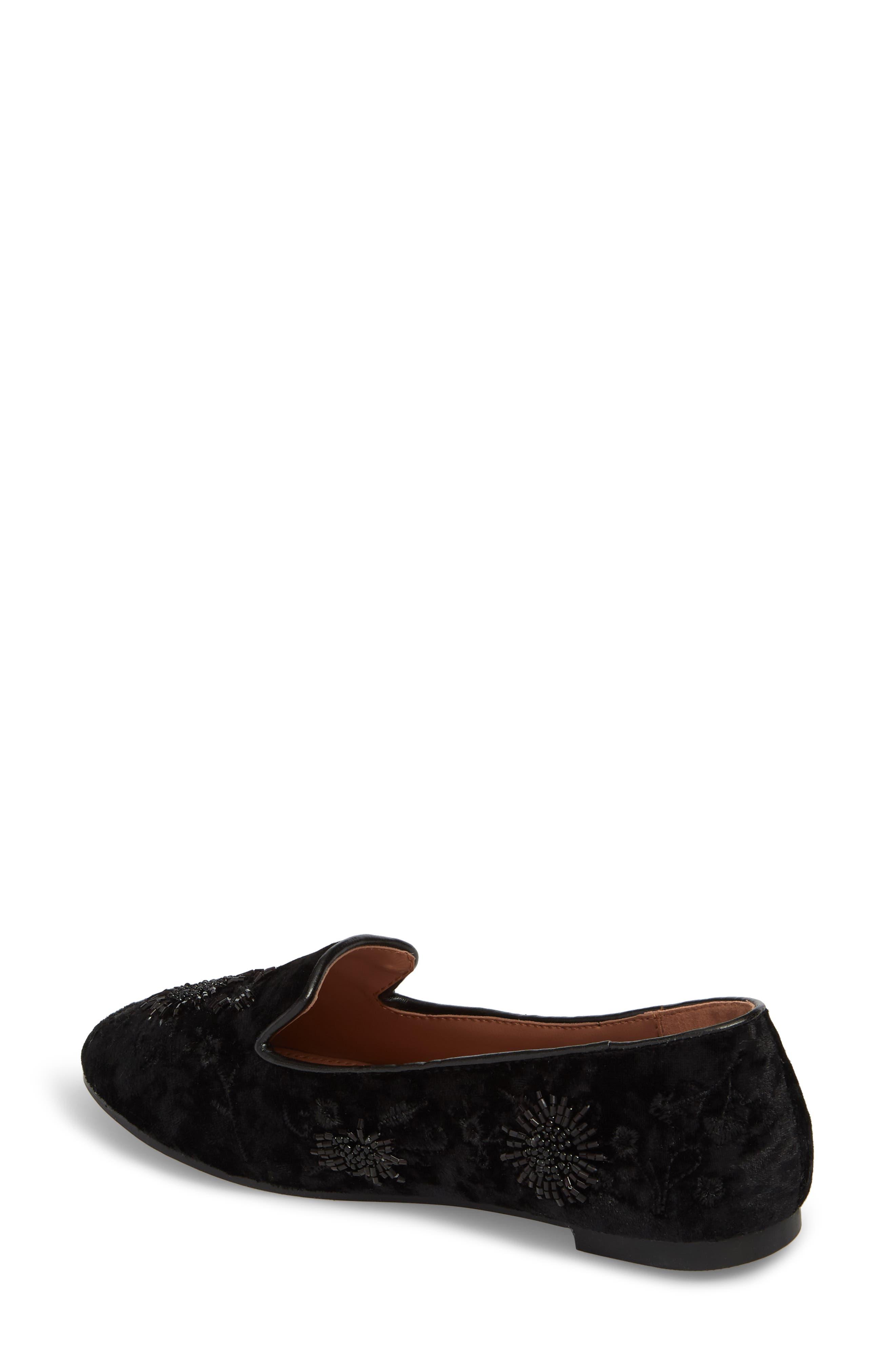 Syrup Embellished Loafer,                             Alternate thumbnail 2, color,                             BLACK