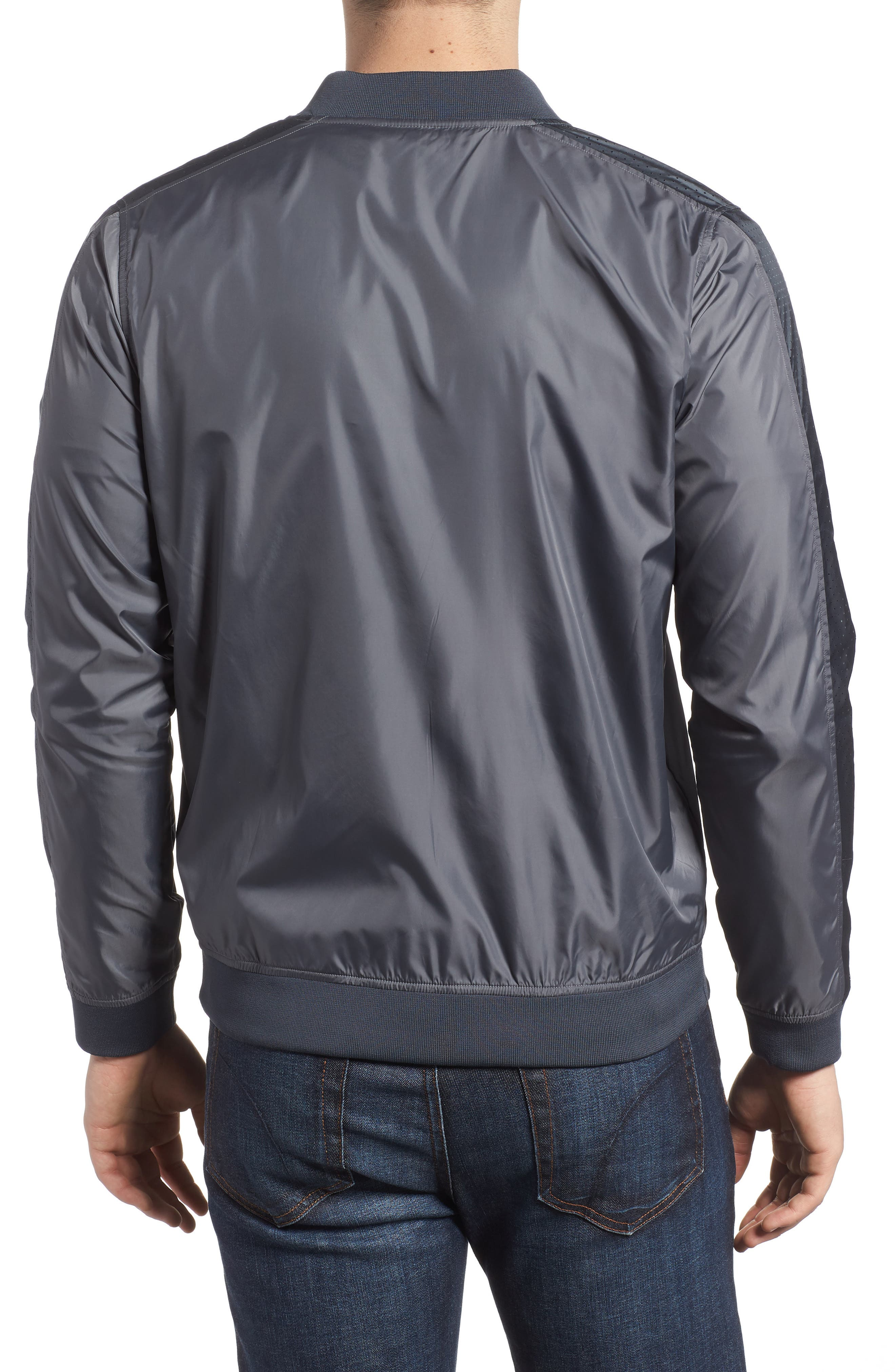 Sportstyle Wind Bomber Jacket,                             Alternate thumbnail 2, color,                             030