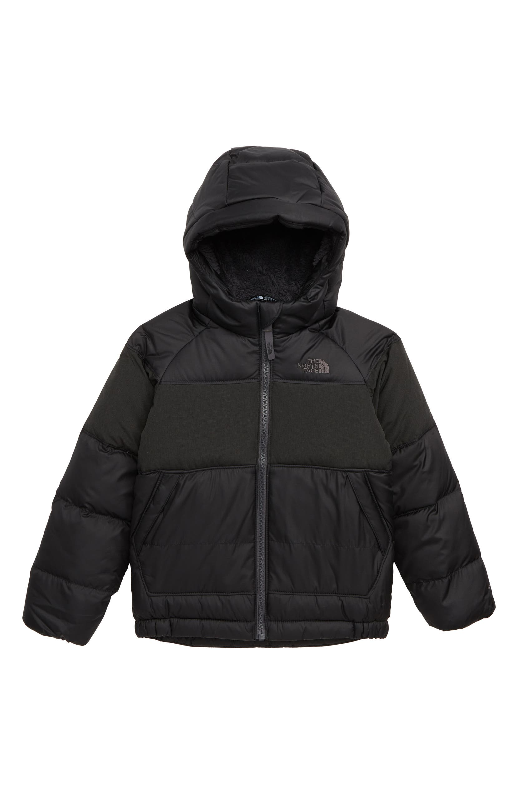 The North Face Moondoggy 2.0 Hooded Down Jacket (Toddler Boys   Little Boys)   1c57772ca