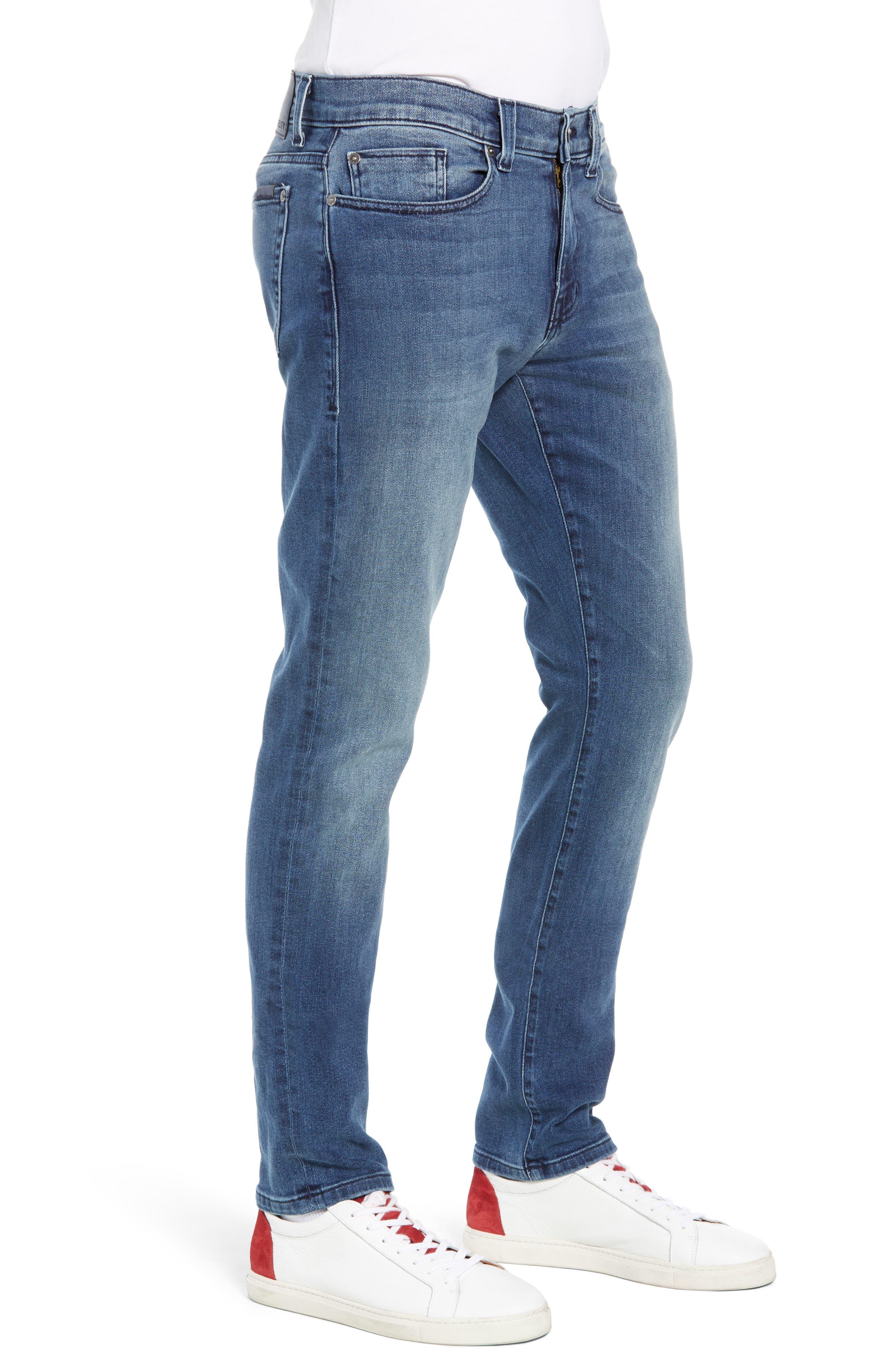 Torino Slim Fit Jeans,                             Alternate thumbnail 3, color,                             EMPIRE BLUE