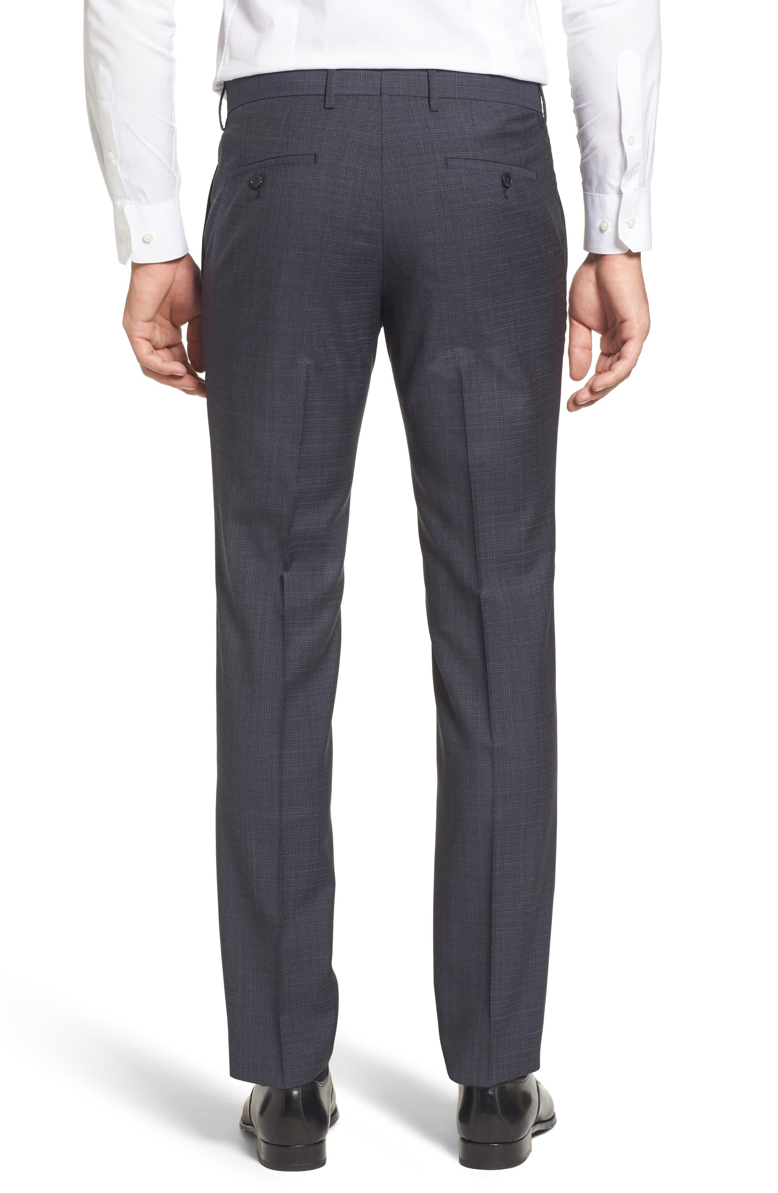 Benso Regular Fit Trousers,                             Alternate thumbnail 3, color,                             410