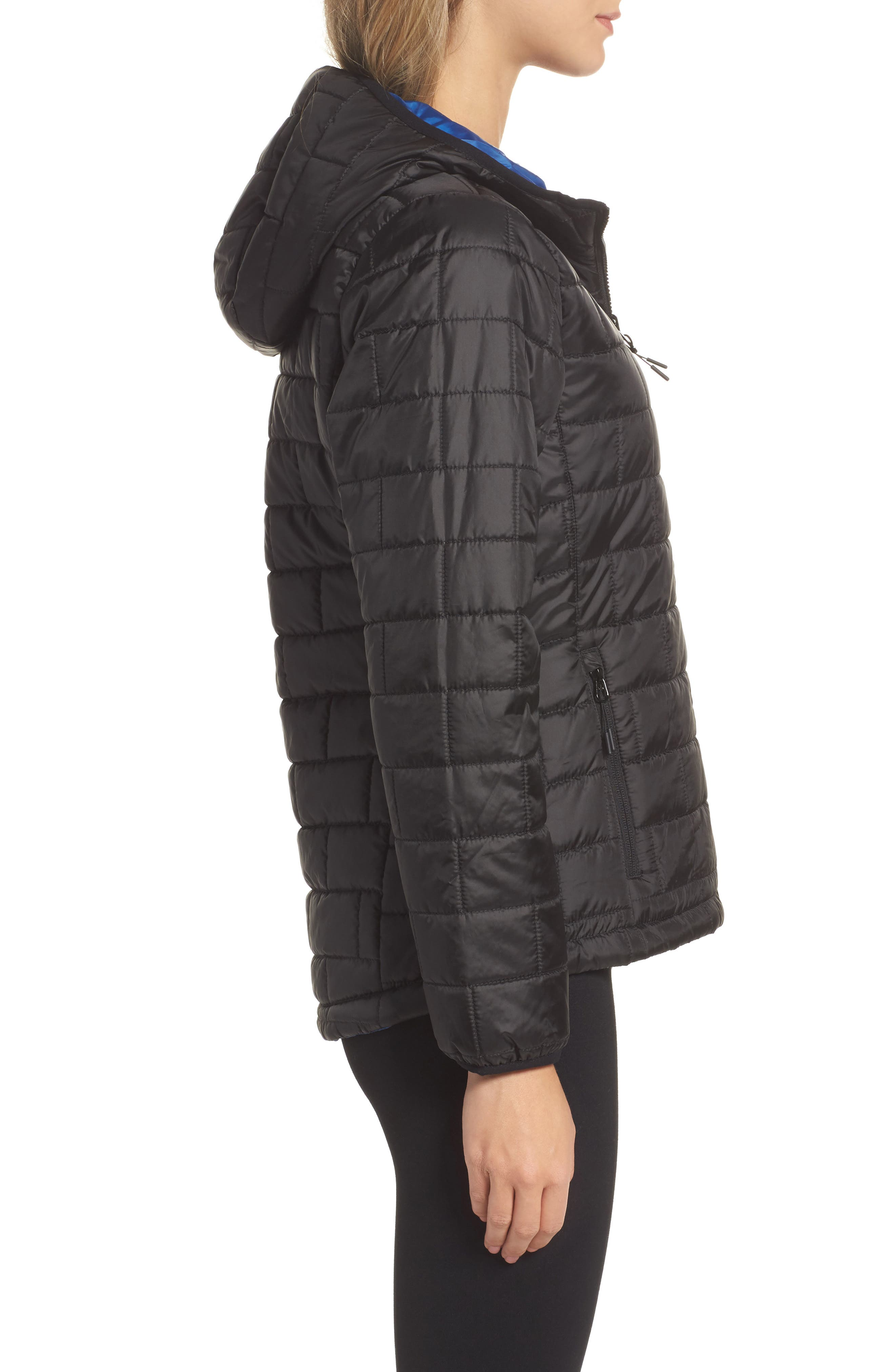 Highland Reversible Water-Resistant & Windproof Quilted Puffer Jacket,                             Alternate thumbnail 8, color,