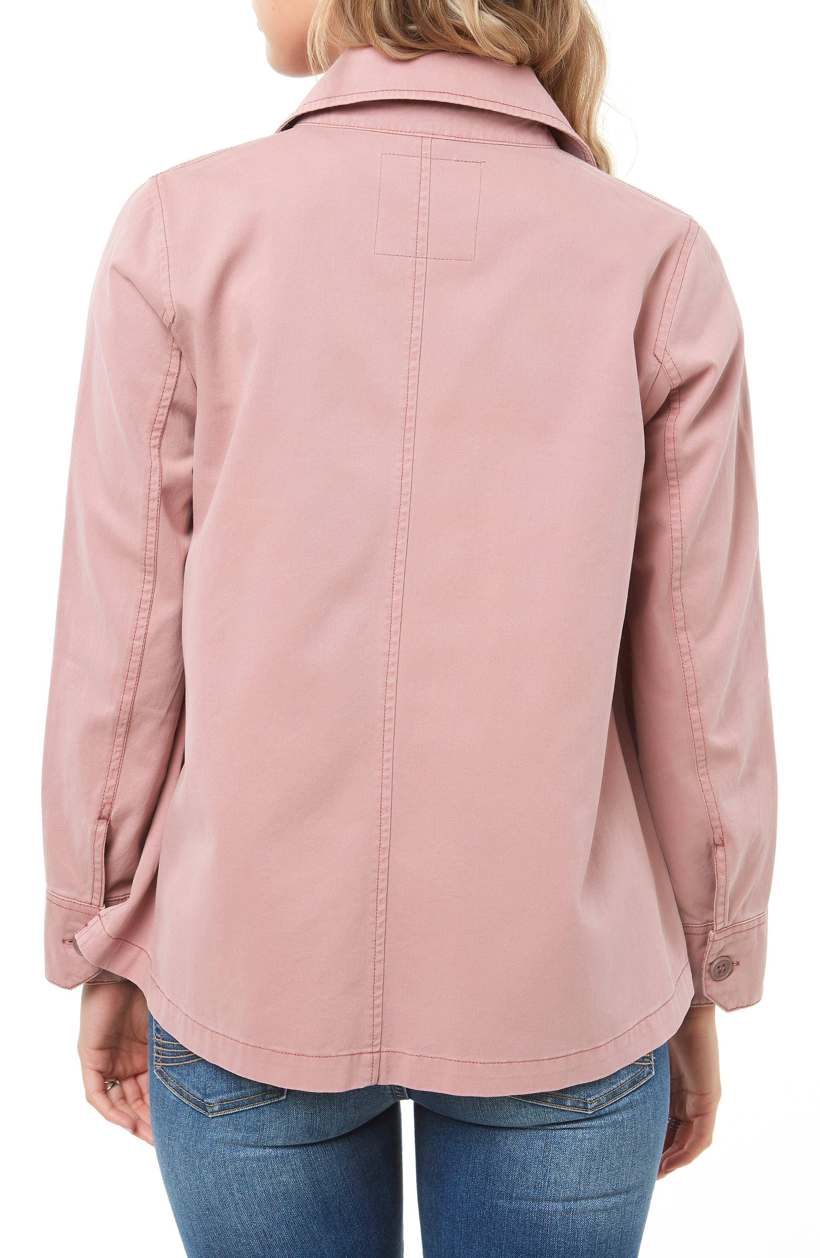 Ripley Twill Shirt Jacket,                             Alternate thumbnail 2, color,                             FAWN