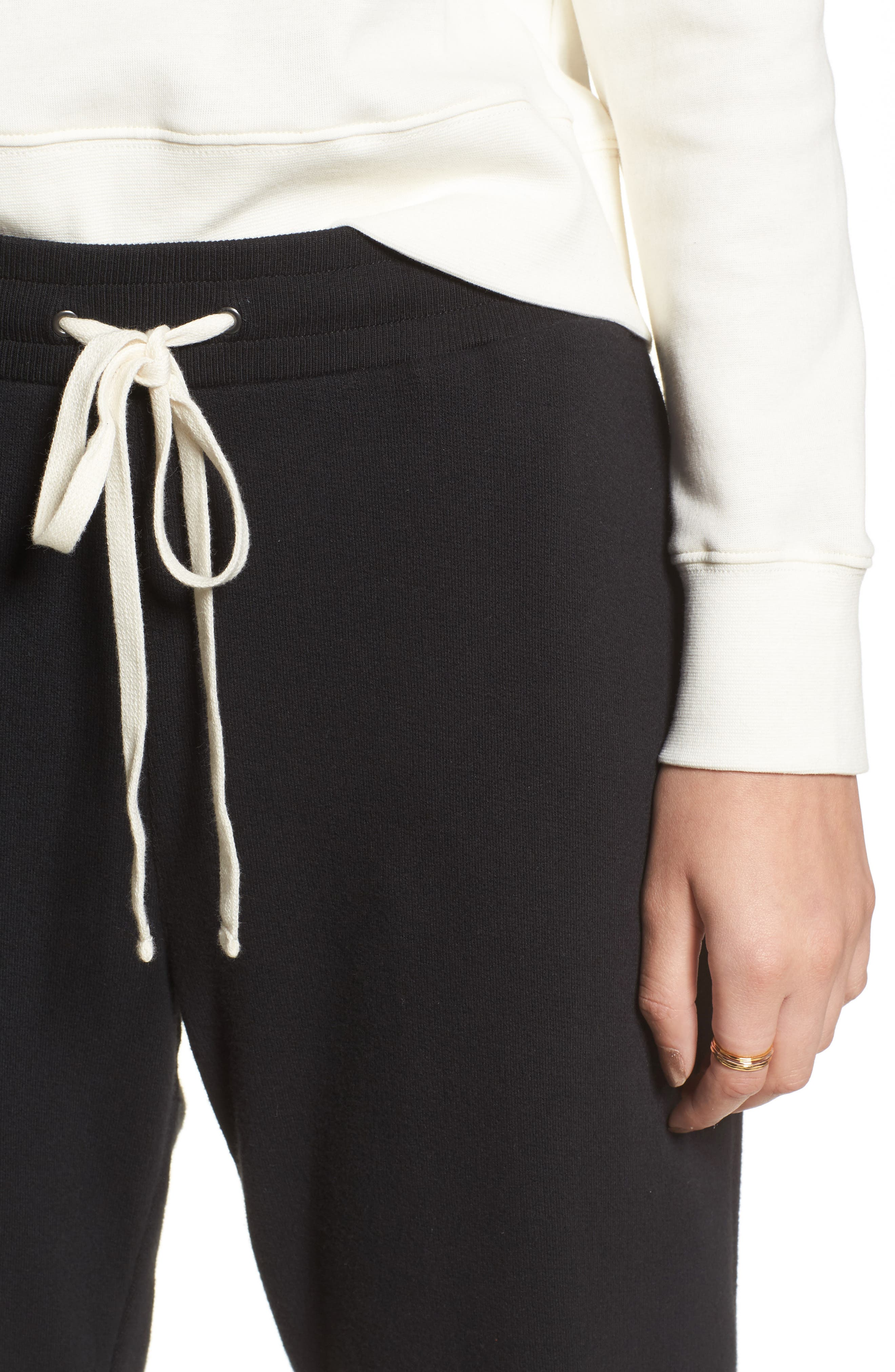 Terry Trouser Sweatpants,                             Alternate thumbnail 4, color,                             001