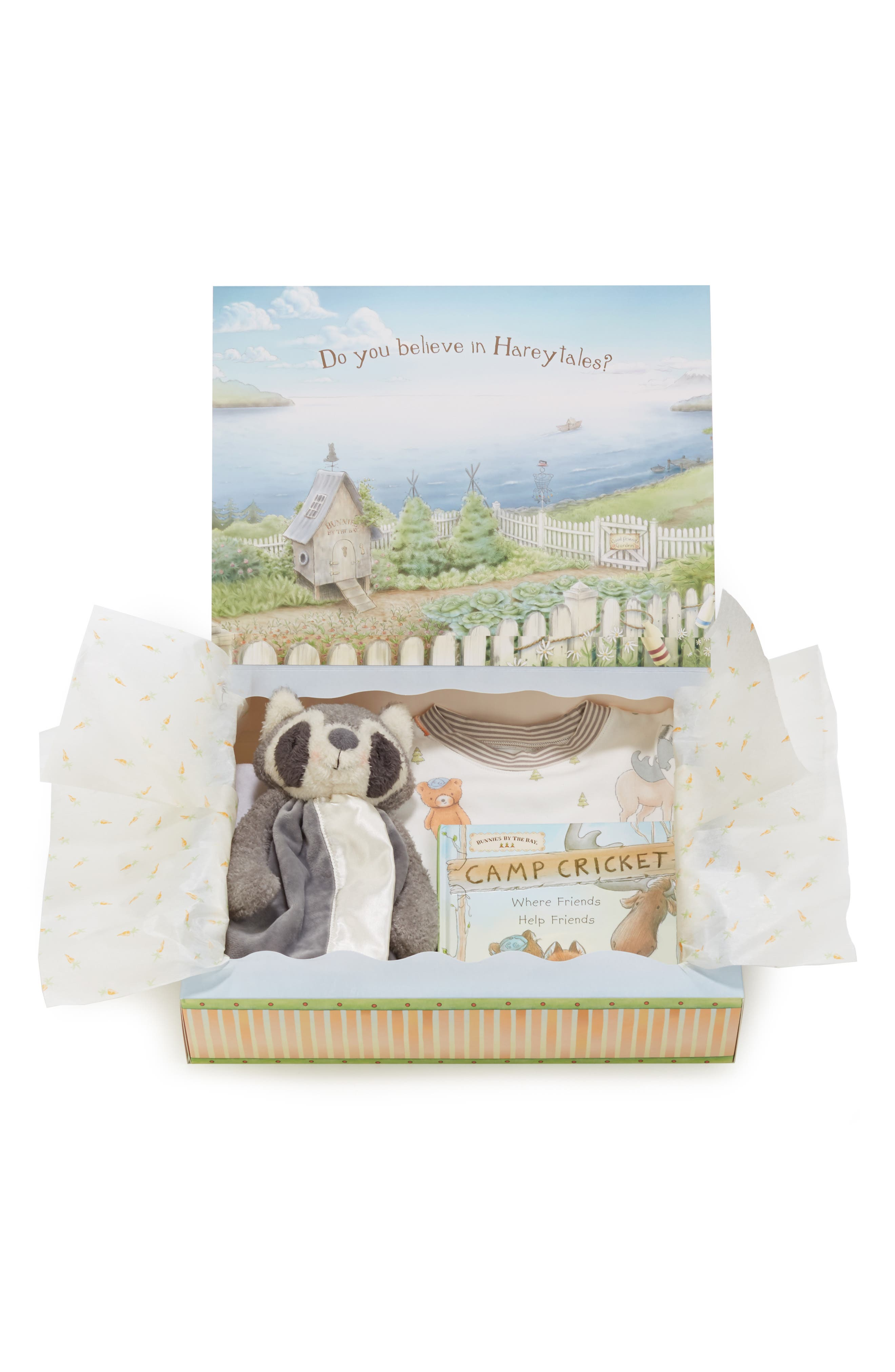 Roxy Sleepy Time Fitted Two-Piece Pajamas, Animal Buddy Blanket & Book Set, Main, color, GREY