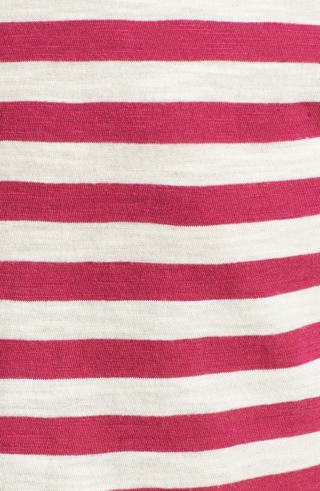 Short Sleeve Cotton & Modal Tee,                             Alternate thumbnail 38, color,