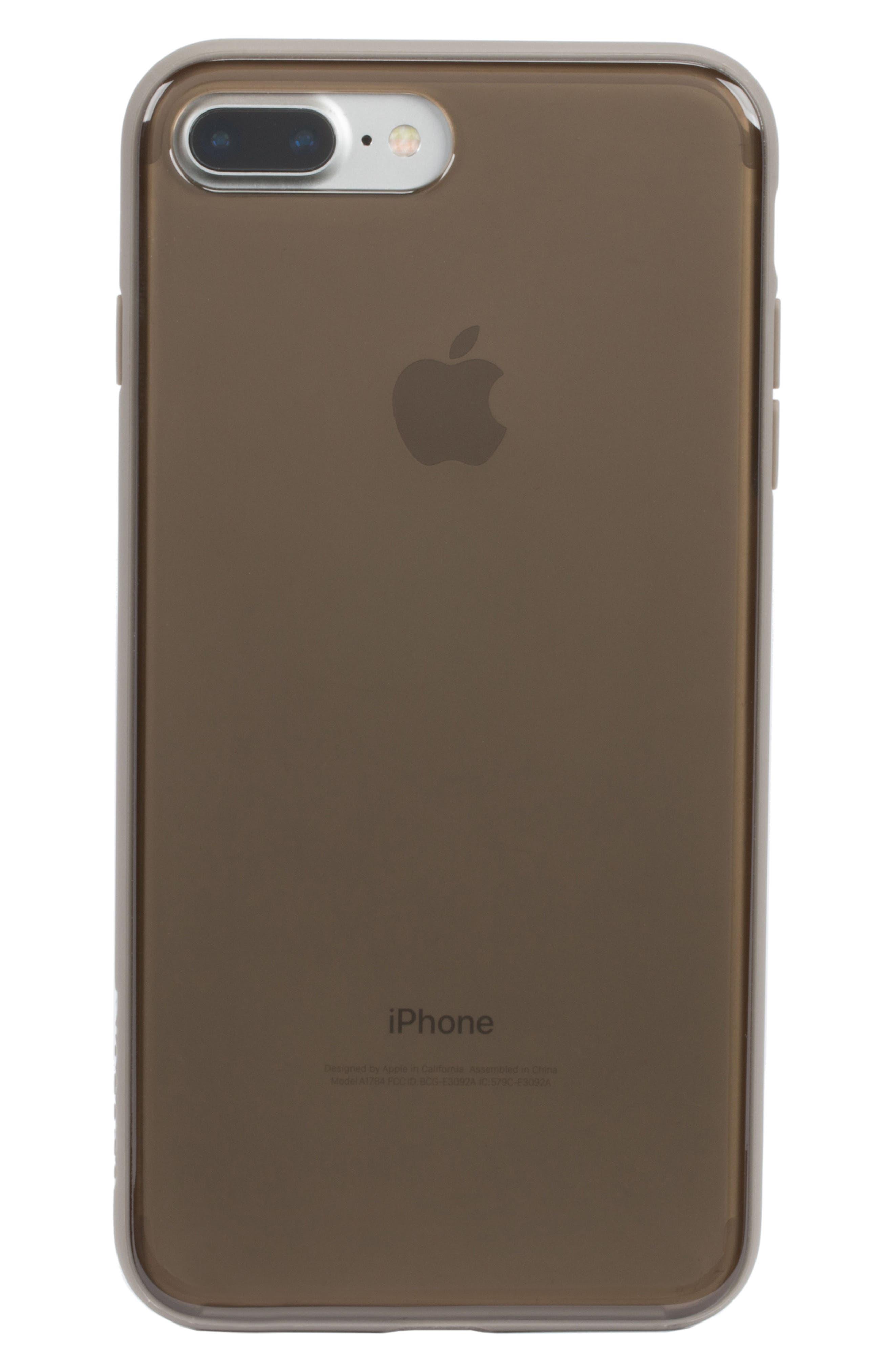 Pop Case Tint iPhone 7 Plus/8 Plus Case,                             Alternate thumbnail 3, color,                             DEEP TAUPE