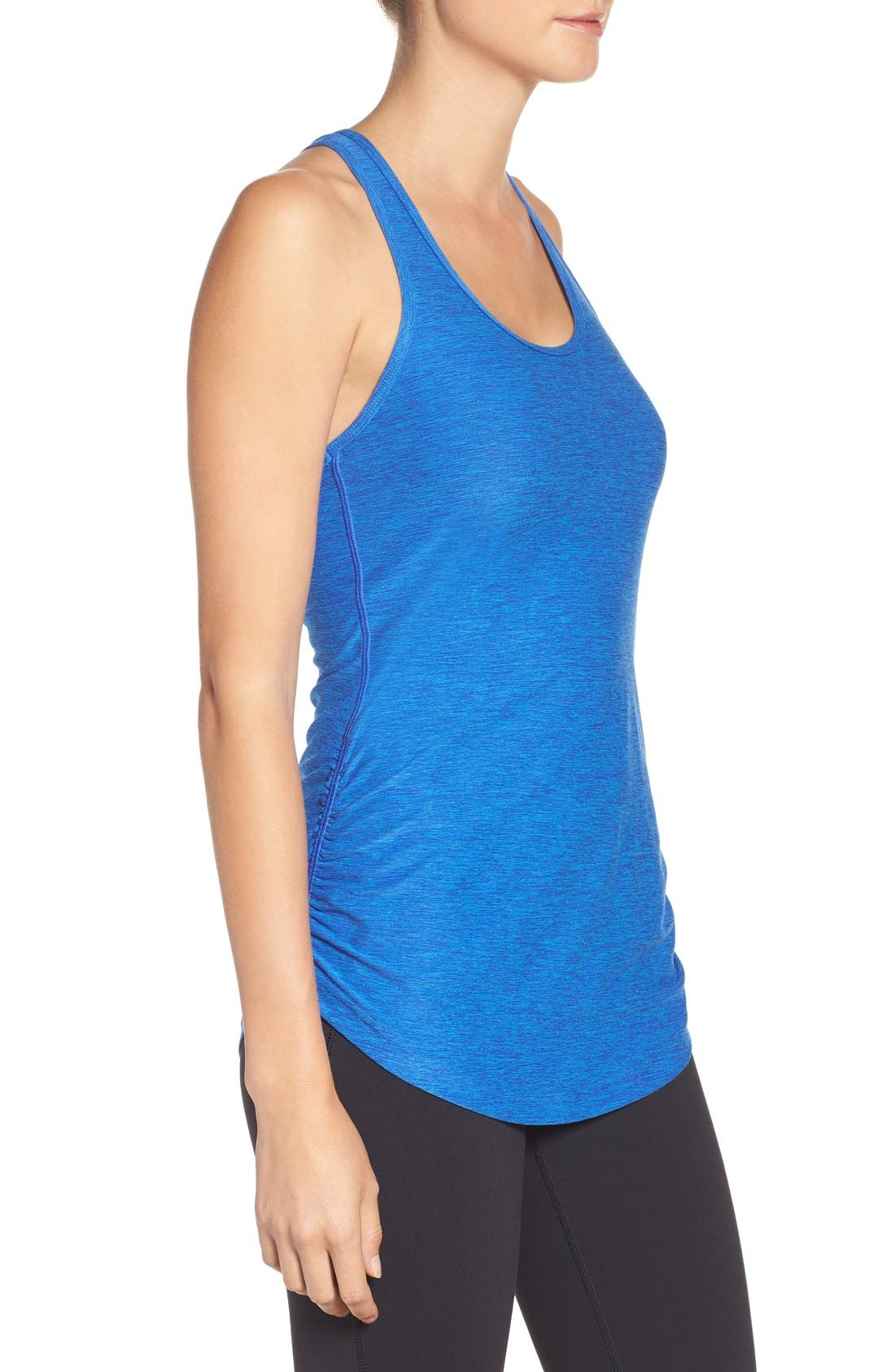 'Perfect' Cutout Racerback Tank,                             Alternate thumbnail 56, color,