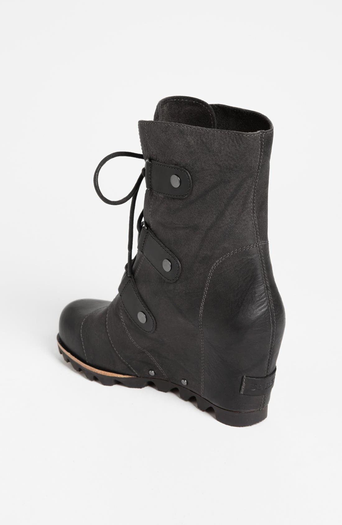 'Joan of Arctic' Wedge Boot,                             Alternate thumbnail 2, color,                             010