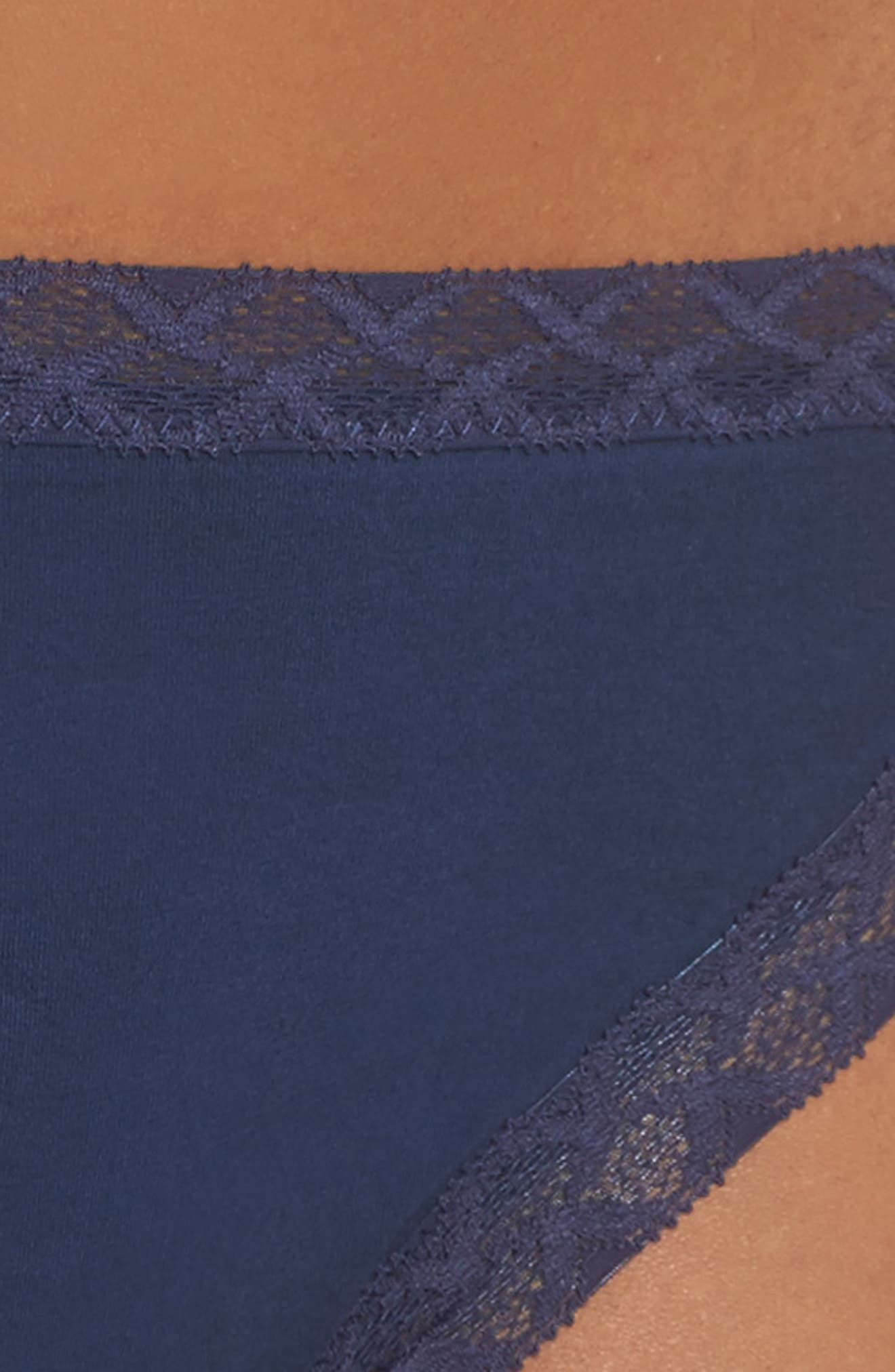Bliss French Cut Briefs,                             Alternate thumbnail 4, color,                             NIGHT
