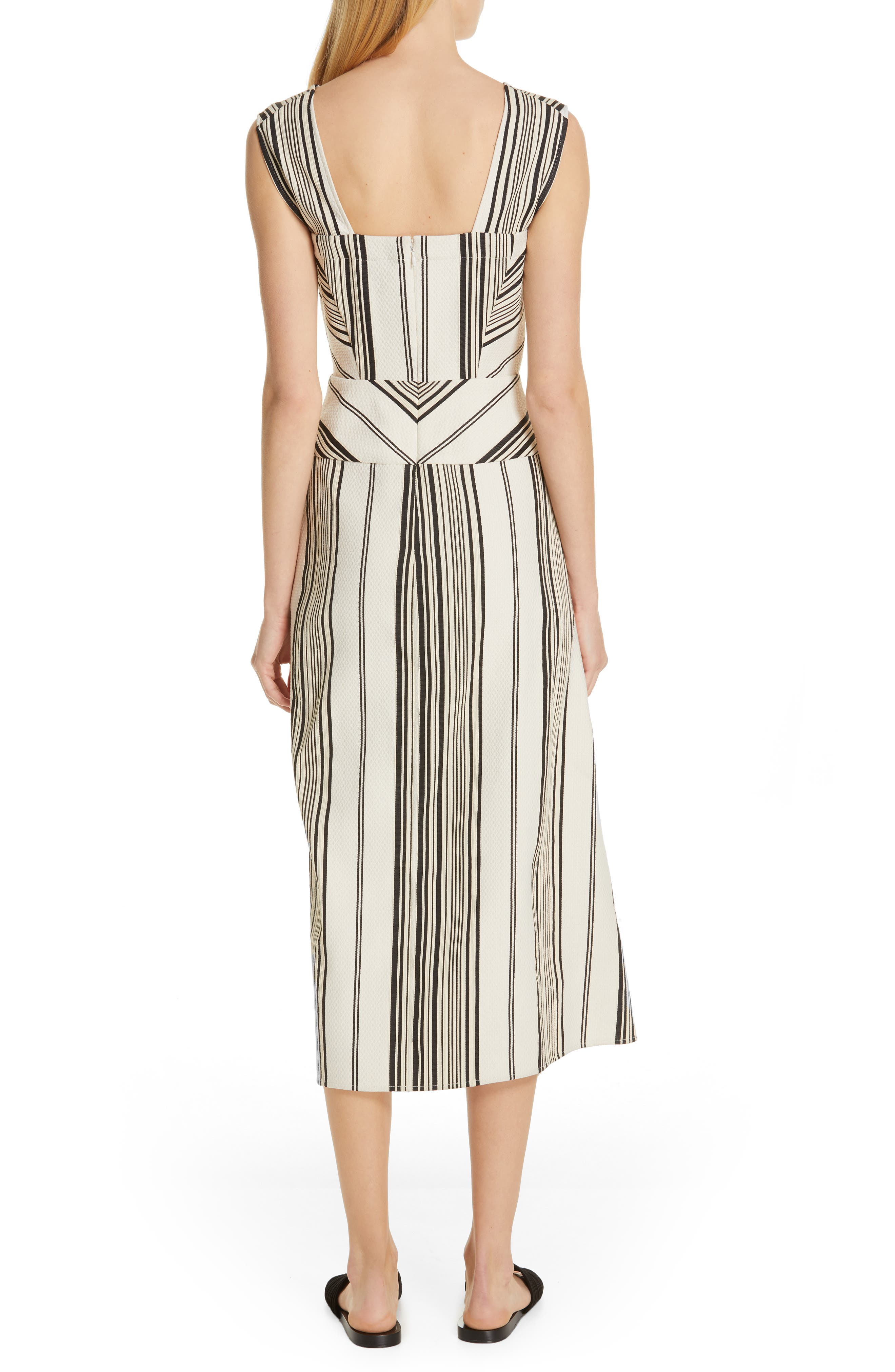 Eve Ero Dress,                             Alternate thumbnail 2, color,                             BLACK/ GREIGE
