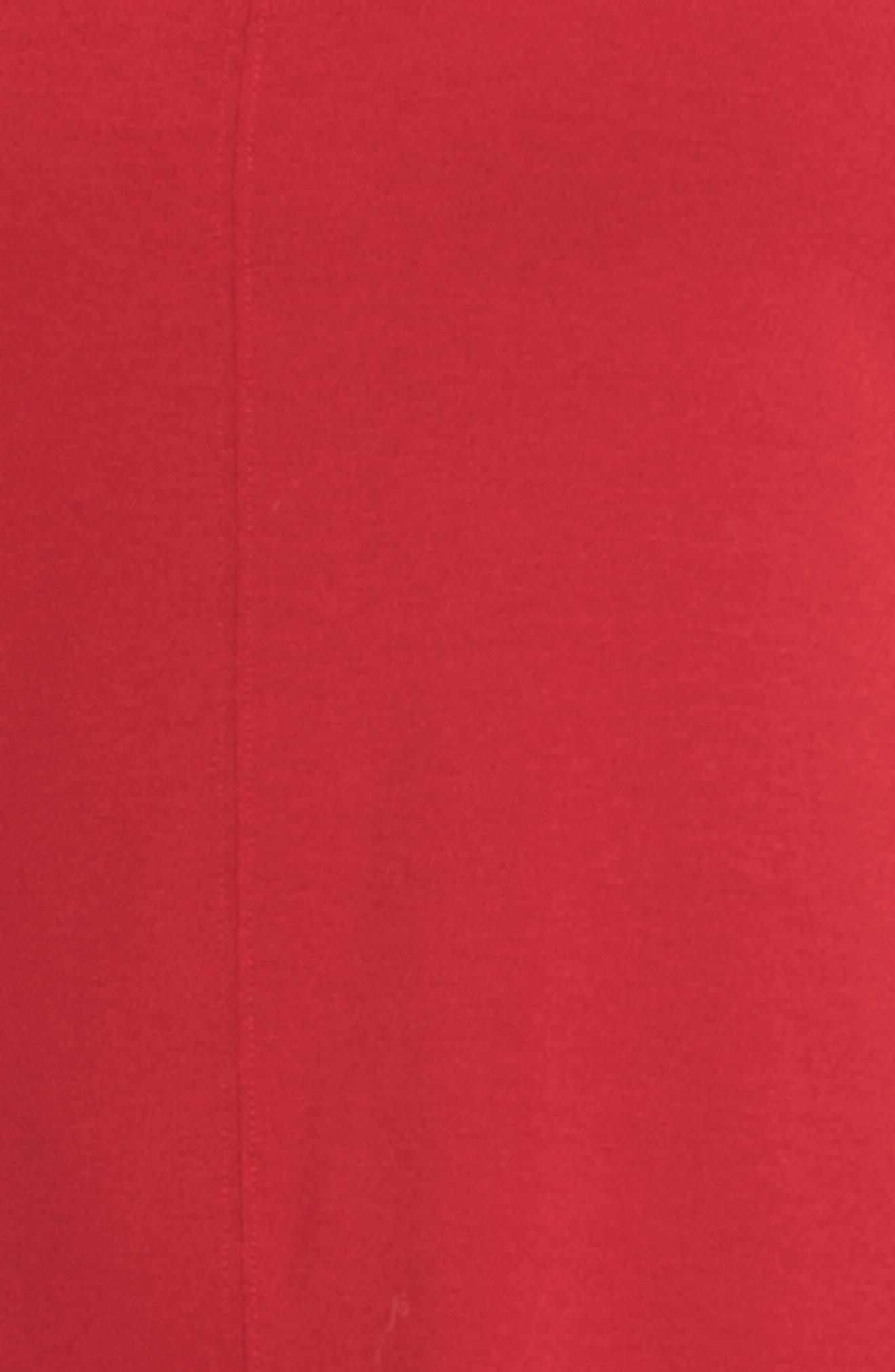 Jersey Bateau Neck Tunic,                             Alternate thumbnail 45, color,
