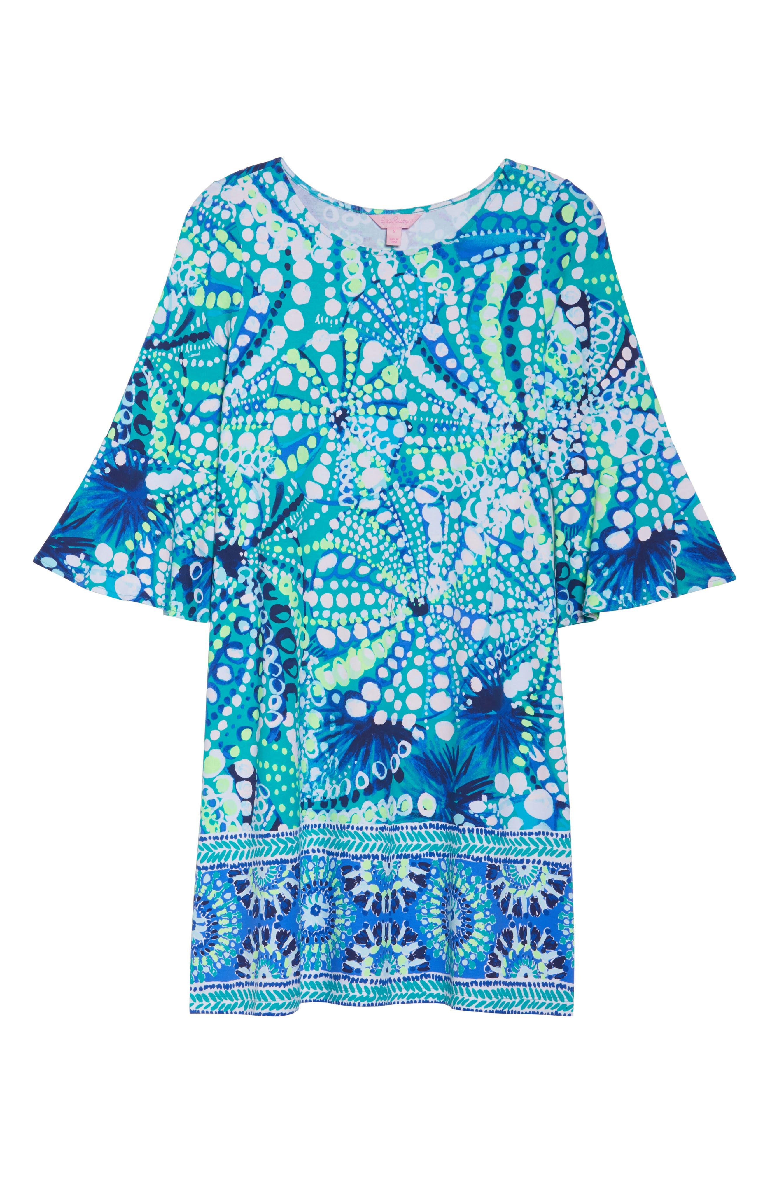 Ophelia Swing Dress,                             Alternate thumbnail 6, color,                             391