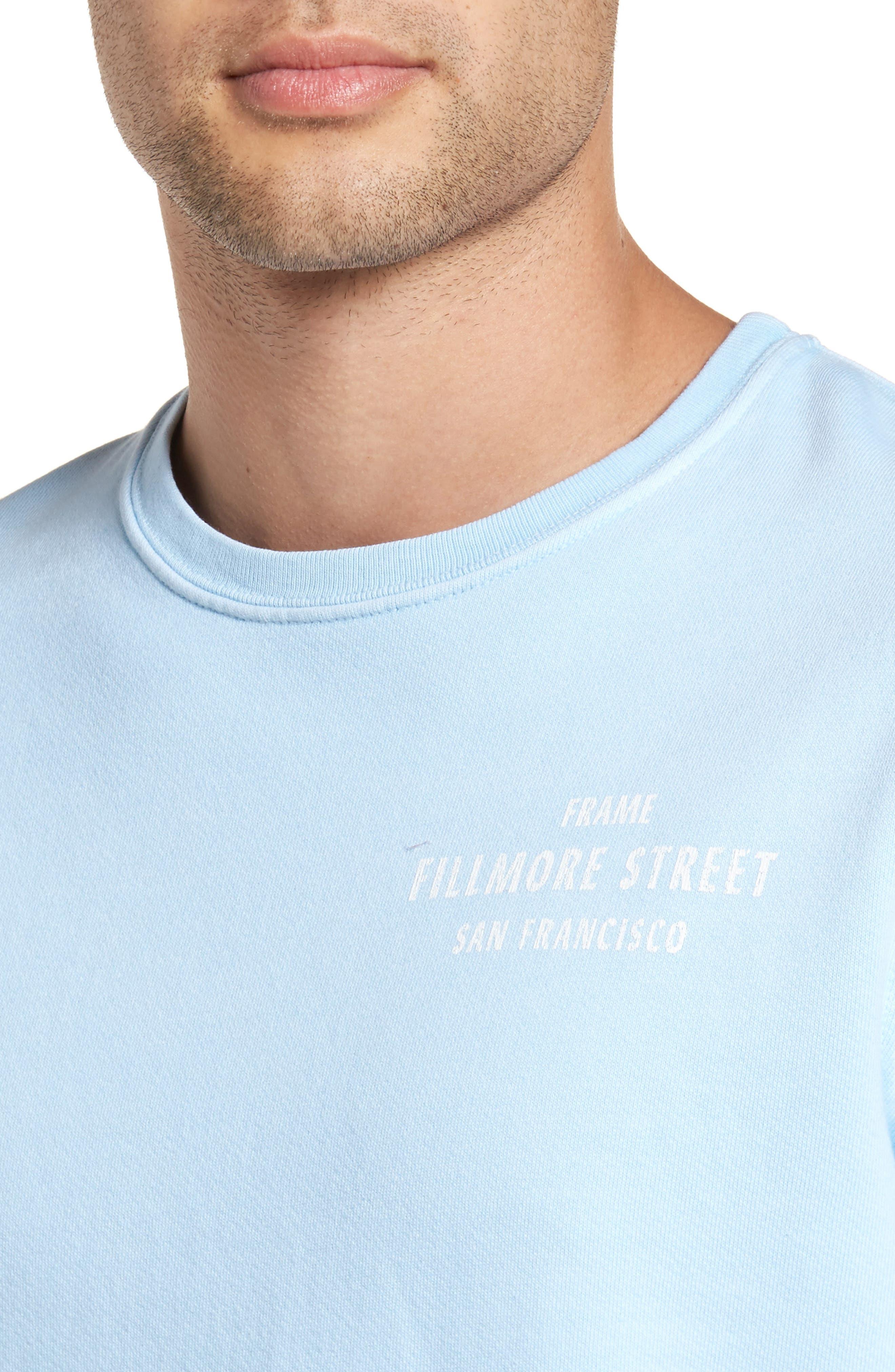 Vintage Crewneck Sweatshirt,                             Alternate thumbnail 4, color,                             400