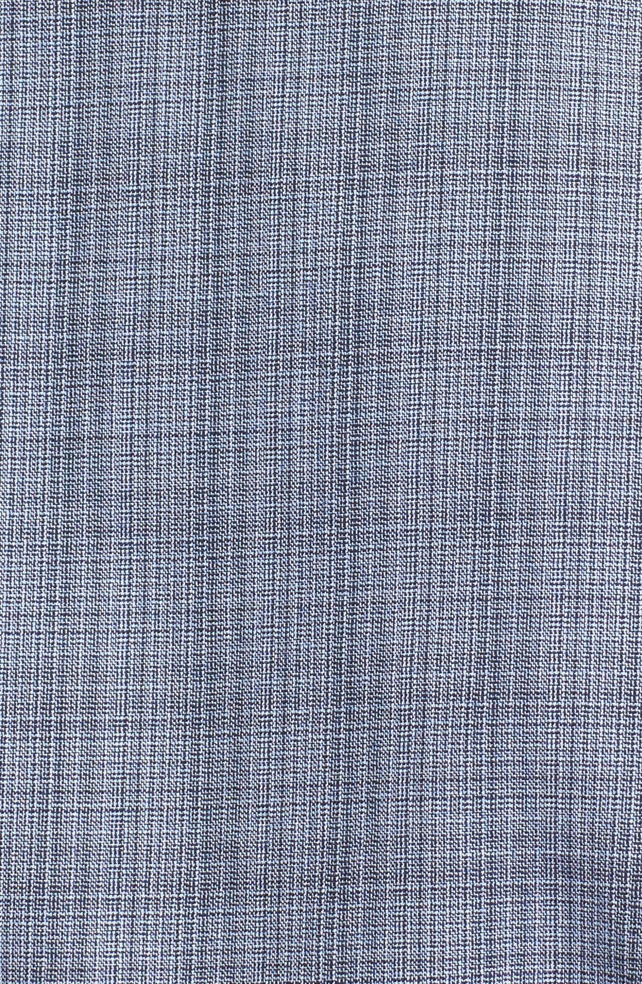 Moiré Check Sport Shirt,                             Alternate thumbnail 5, color,                             448