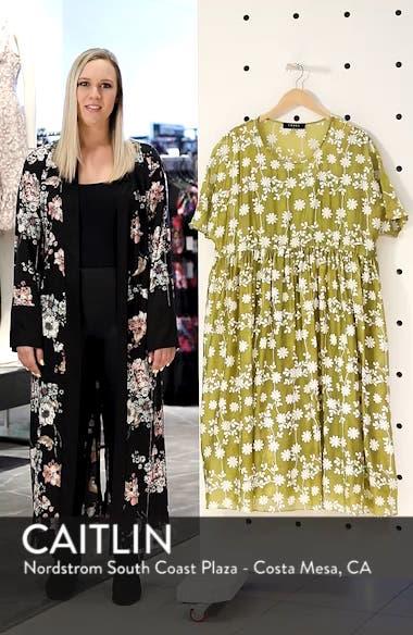 Daisy Picking Floral Dress, sales video thumbnail