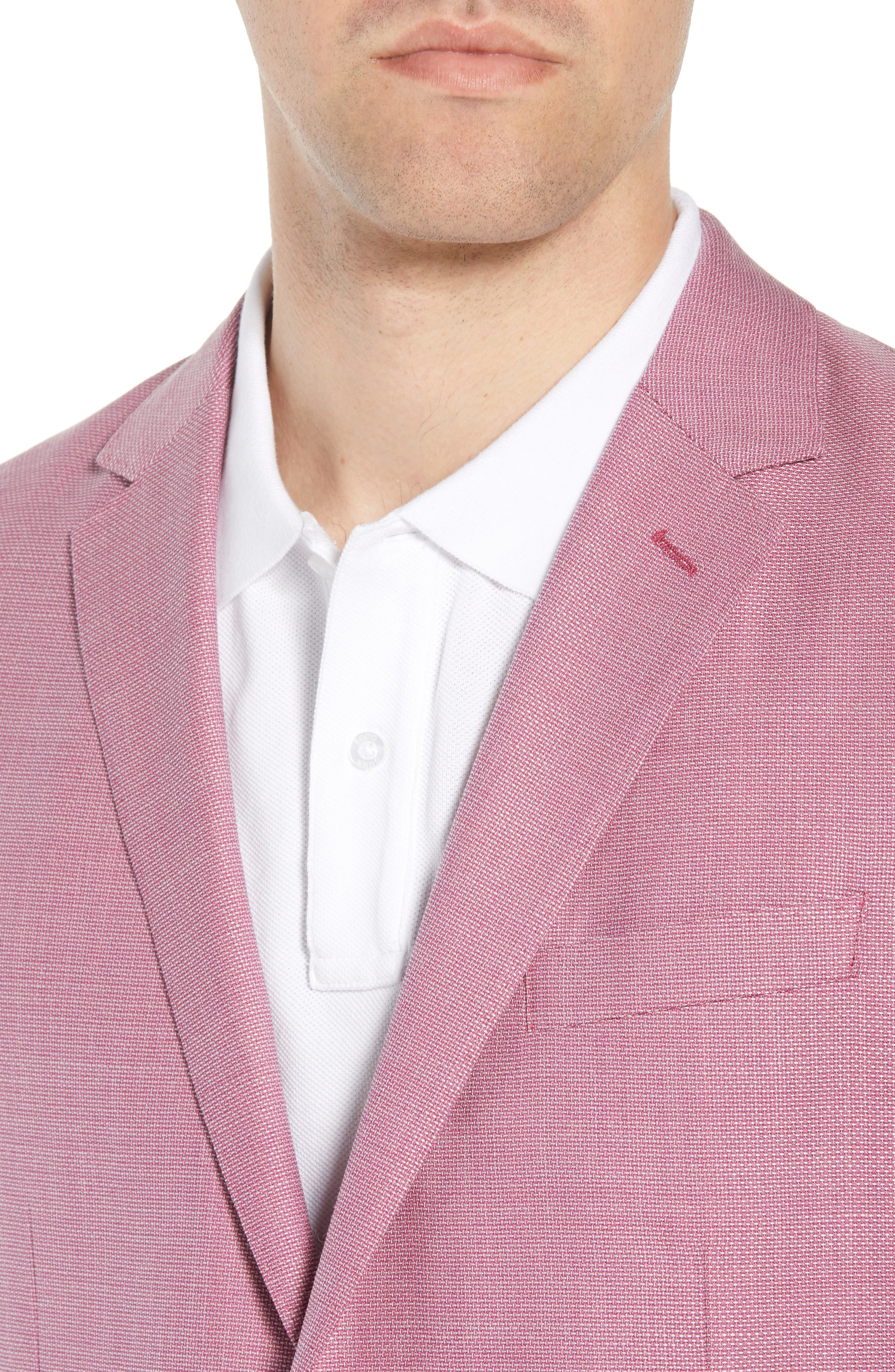 Trim Fit Wool Unconstructed Blazer,                             Alternate thumbnail 12, color,