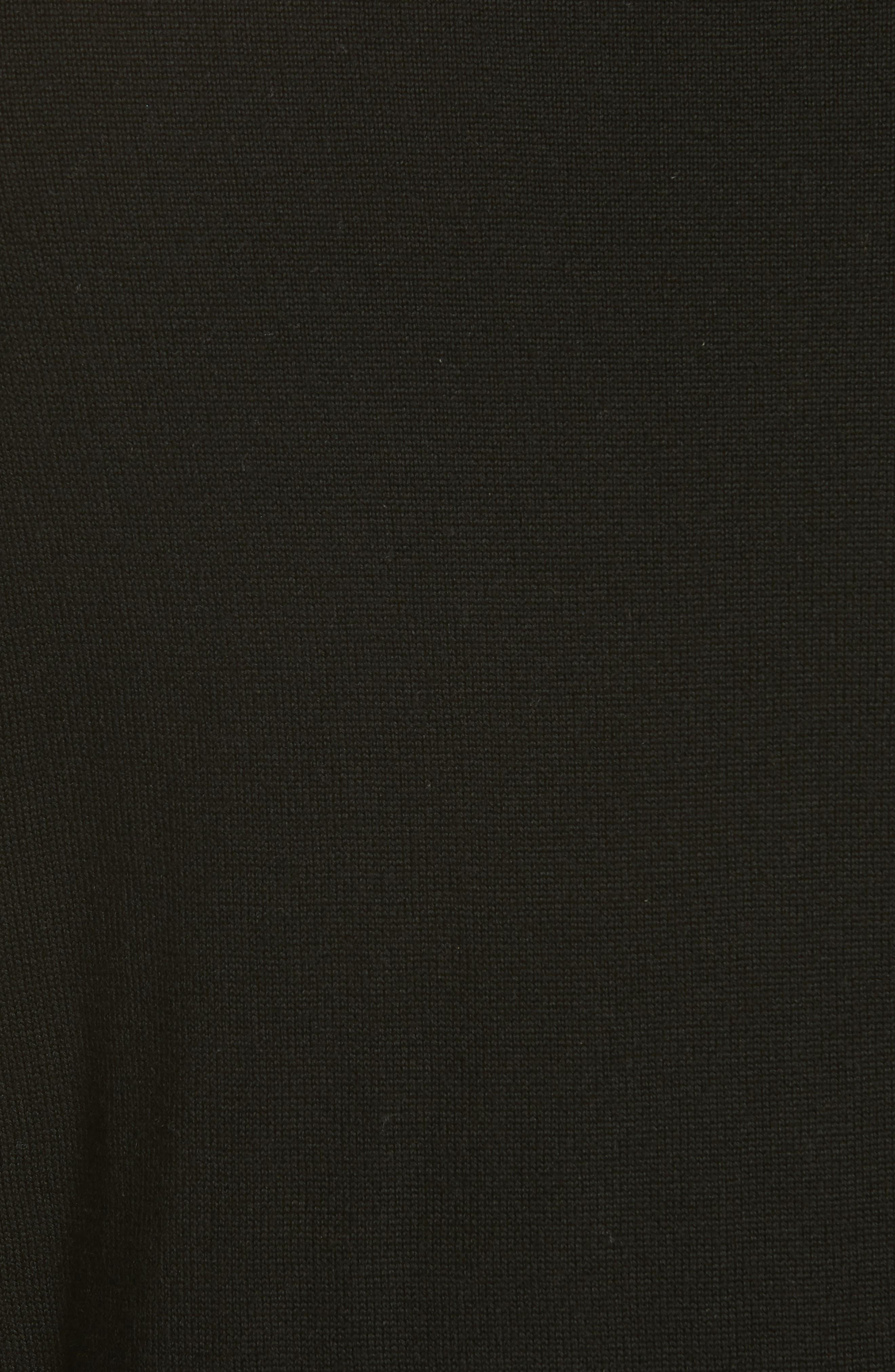 Moon Merino Wool Sweater,                             Alternate thumbnail 5, color,                             001