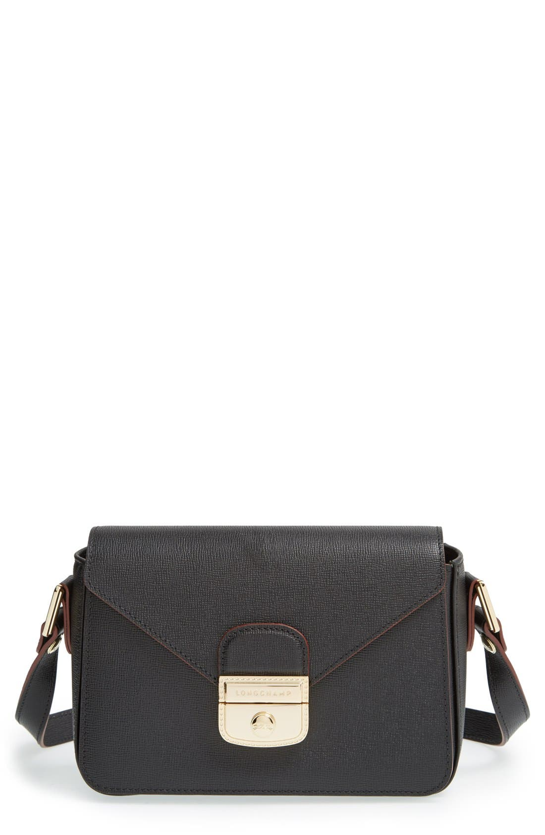 'Le Pliage - Heritage' Small Crossbody Bag, Main, color, 001