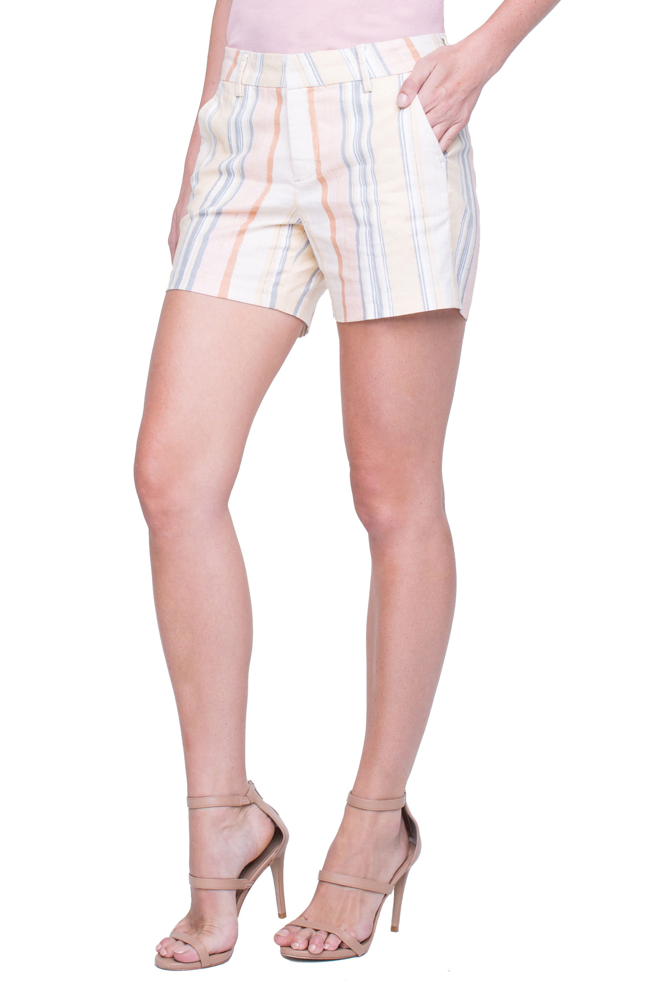 Kelsey Sunset Stripe Shorts,                         Main,                         color, 950