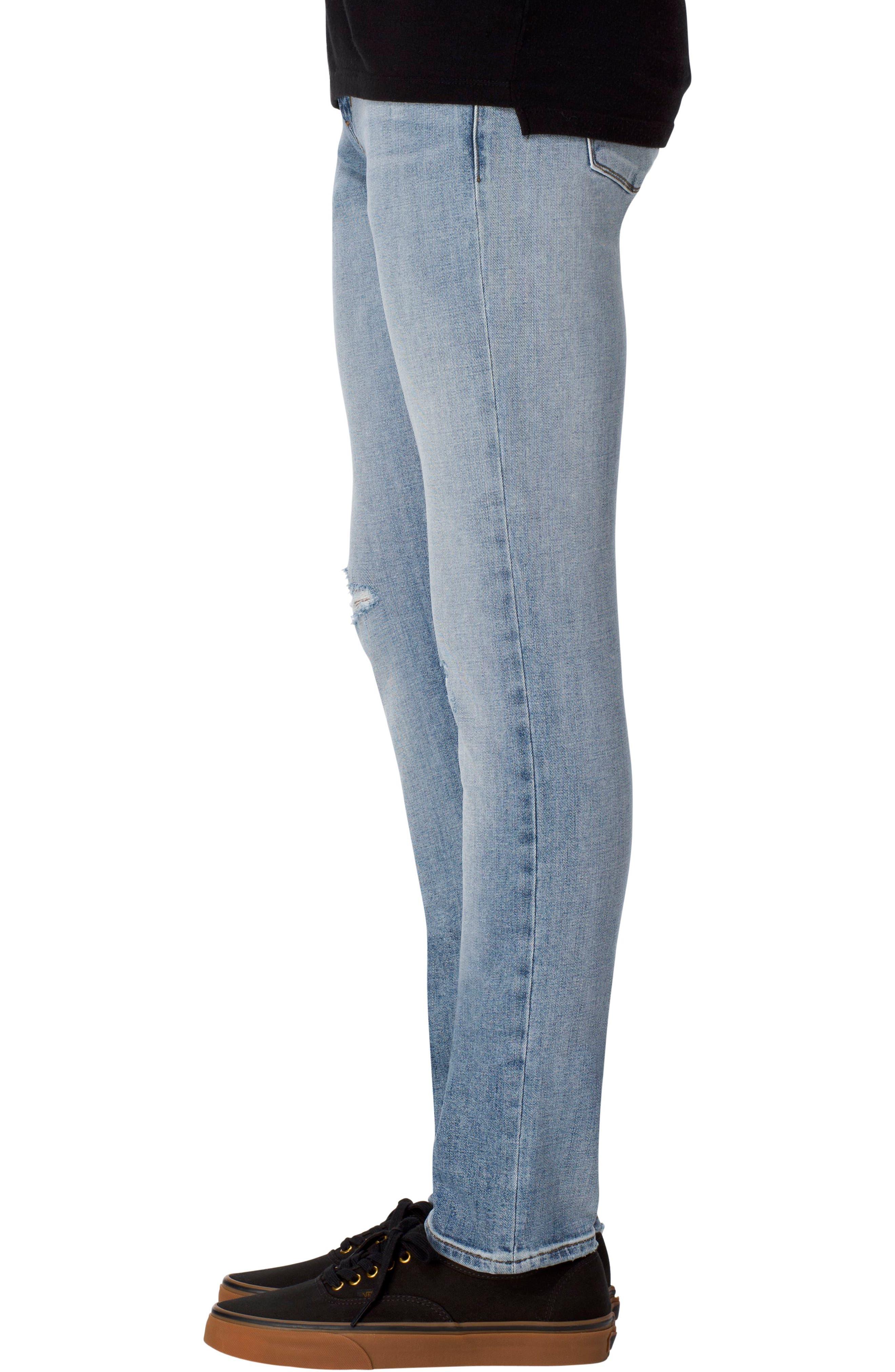 Mick Skinny Fit Jeans,                             Alternate thumbnail 3, color,                             450