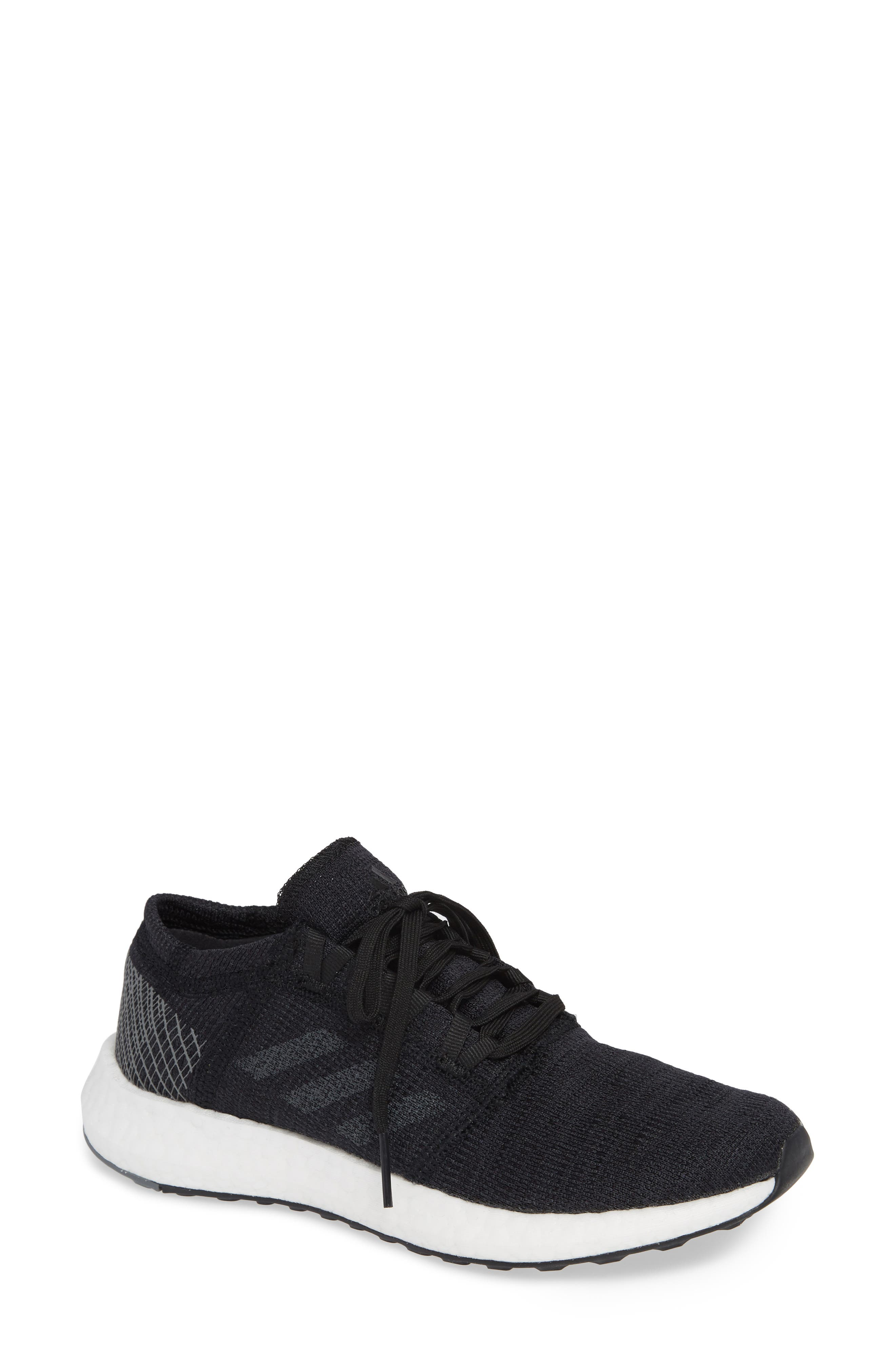 PureBoost X Element Knit Running Shoe,                         Main,                         color, 001